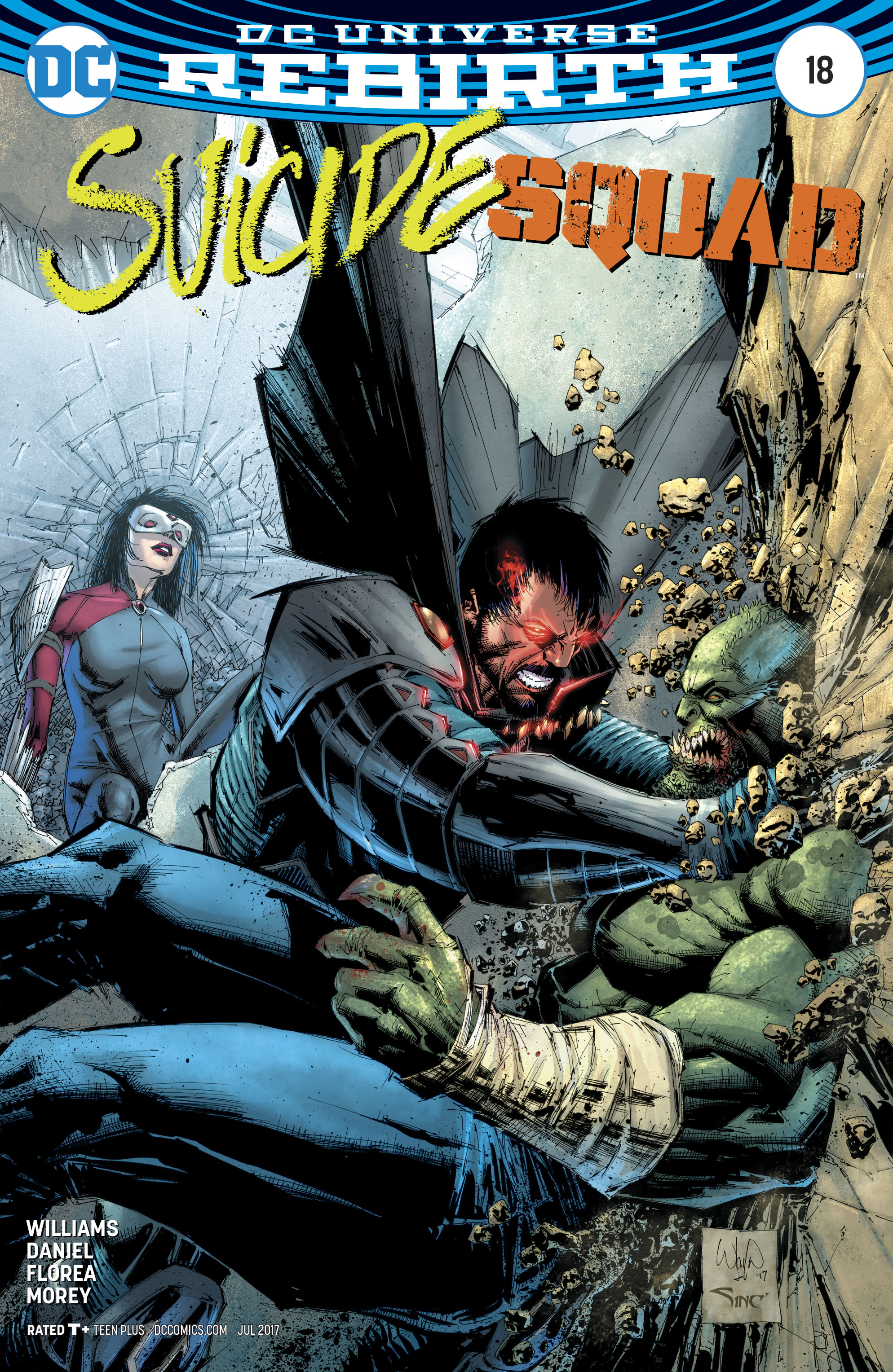 Read online Suicide Squad (2016) comic -  Issue #18 - 2