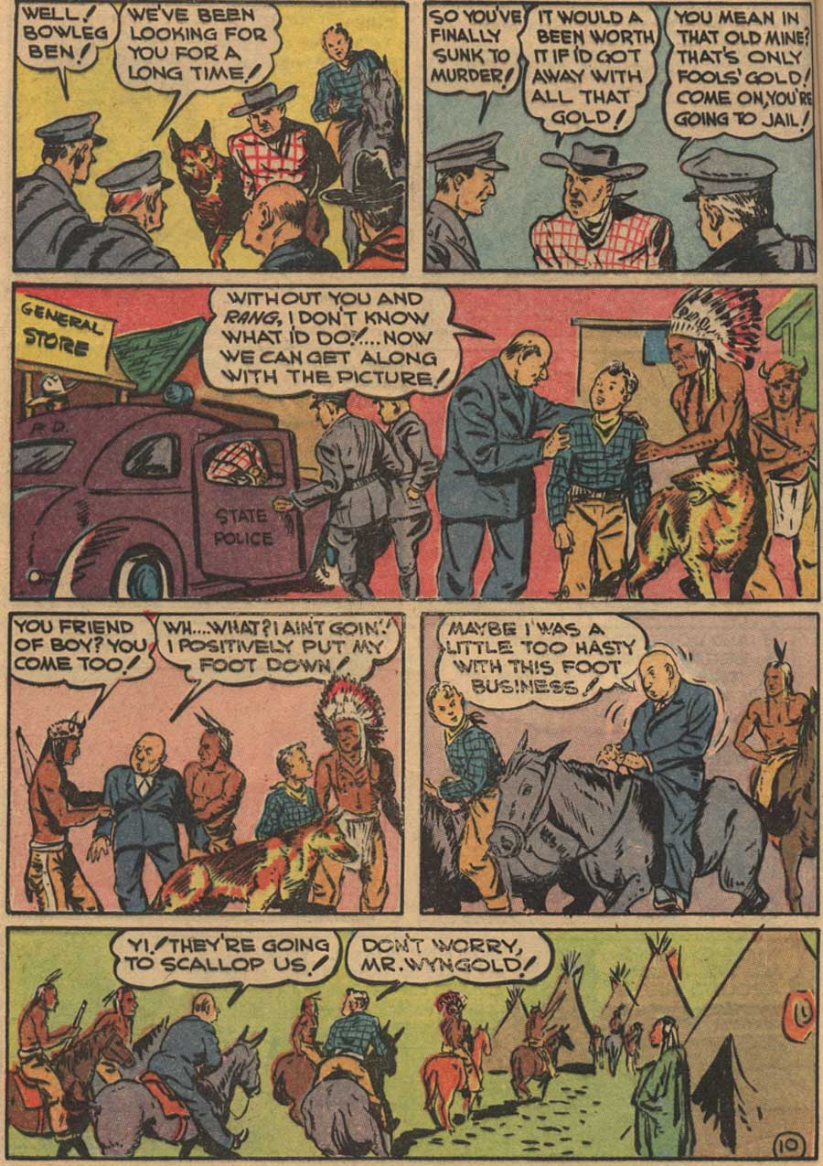 Blue Ribbon Comics (1939) issue 7 - Page 12