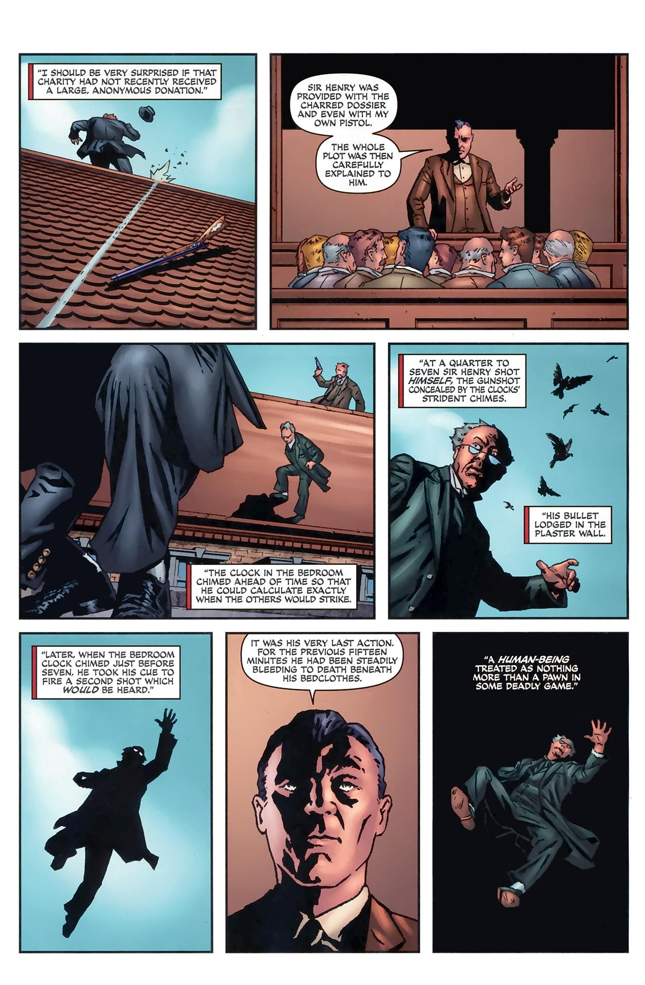 Read online Sherlock Holmes (2009) comic -  Issue #5 - 21