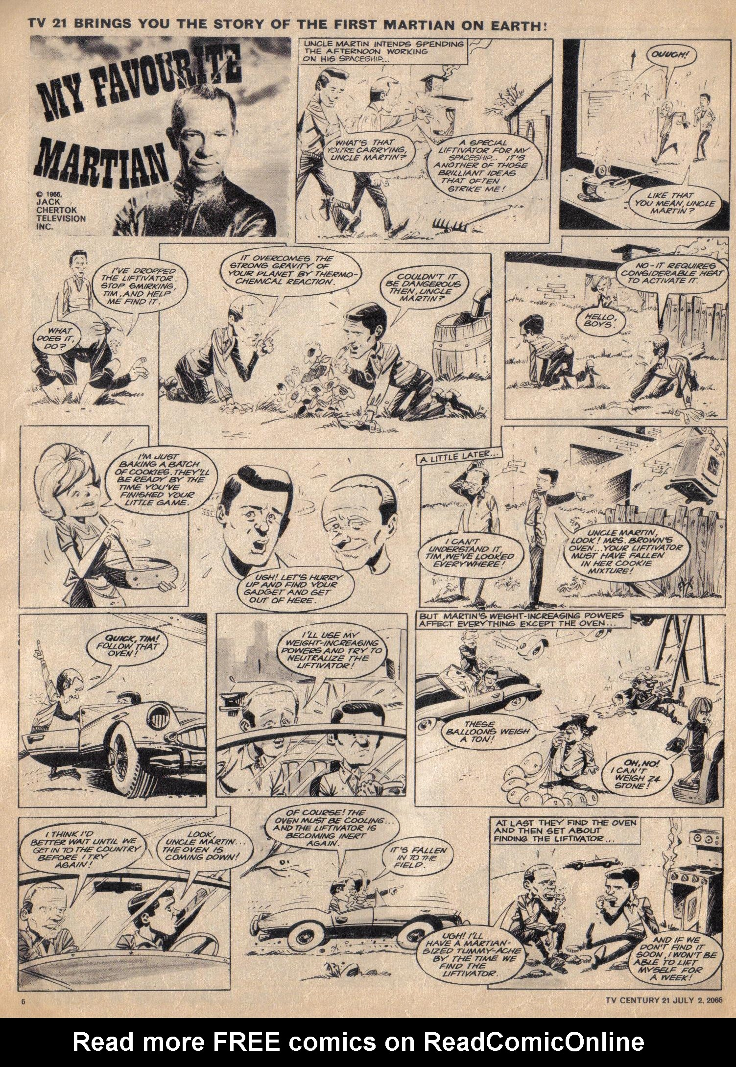 Read online TV Century 21 (TV 21) comic -  Issue #76 - 6