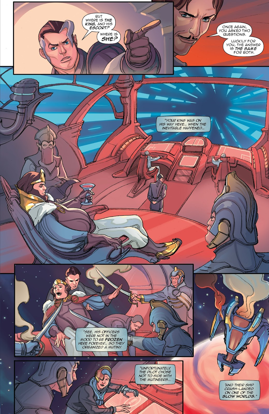 Read online Lightstep comic -  Issue #5 - 17