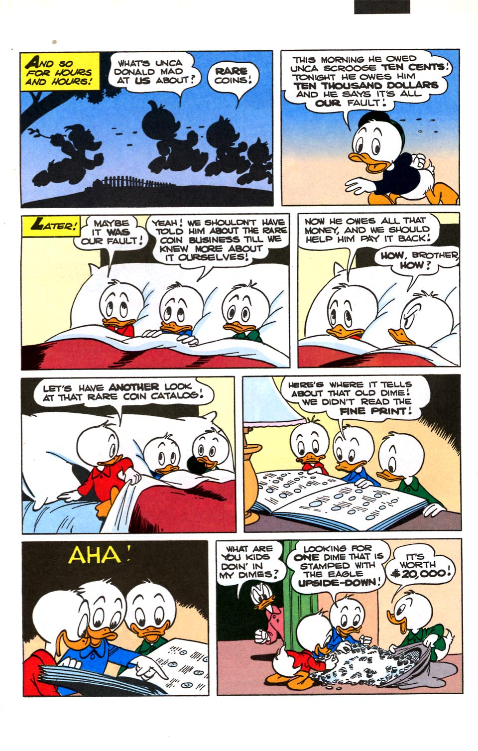Read online Uncle Scrooge (1953) comic -  Issue #282 - 10