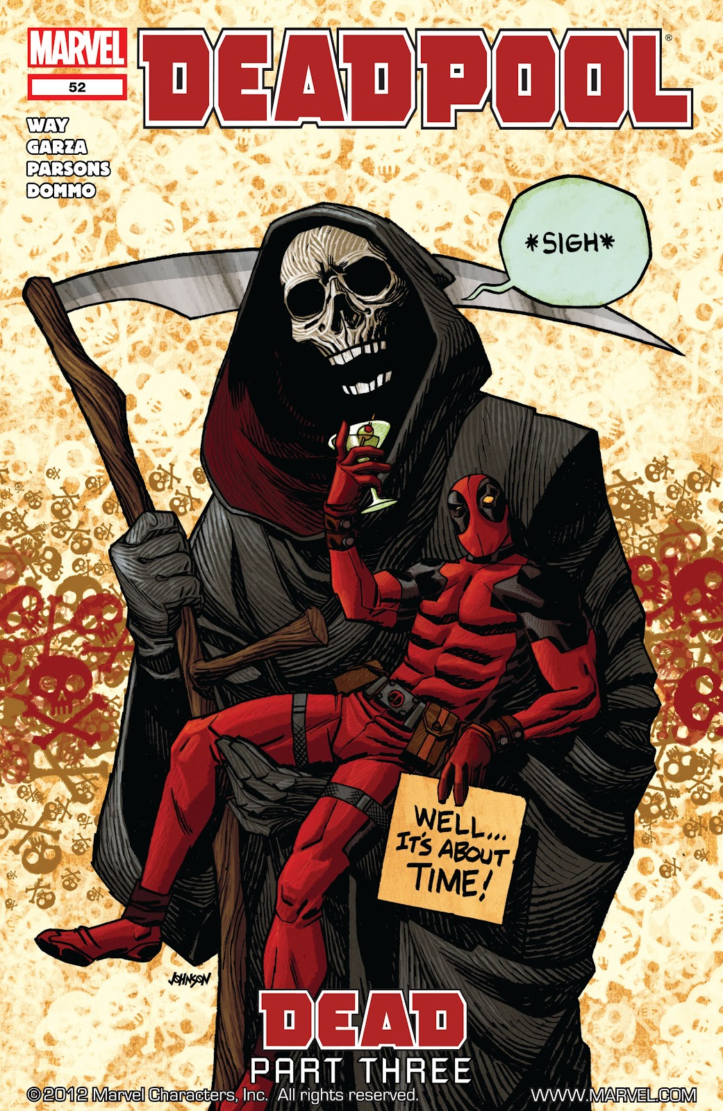 Read online Deadpool (2008) comic -  Issue #52 - 1