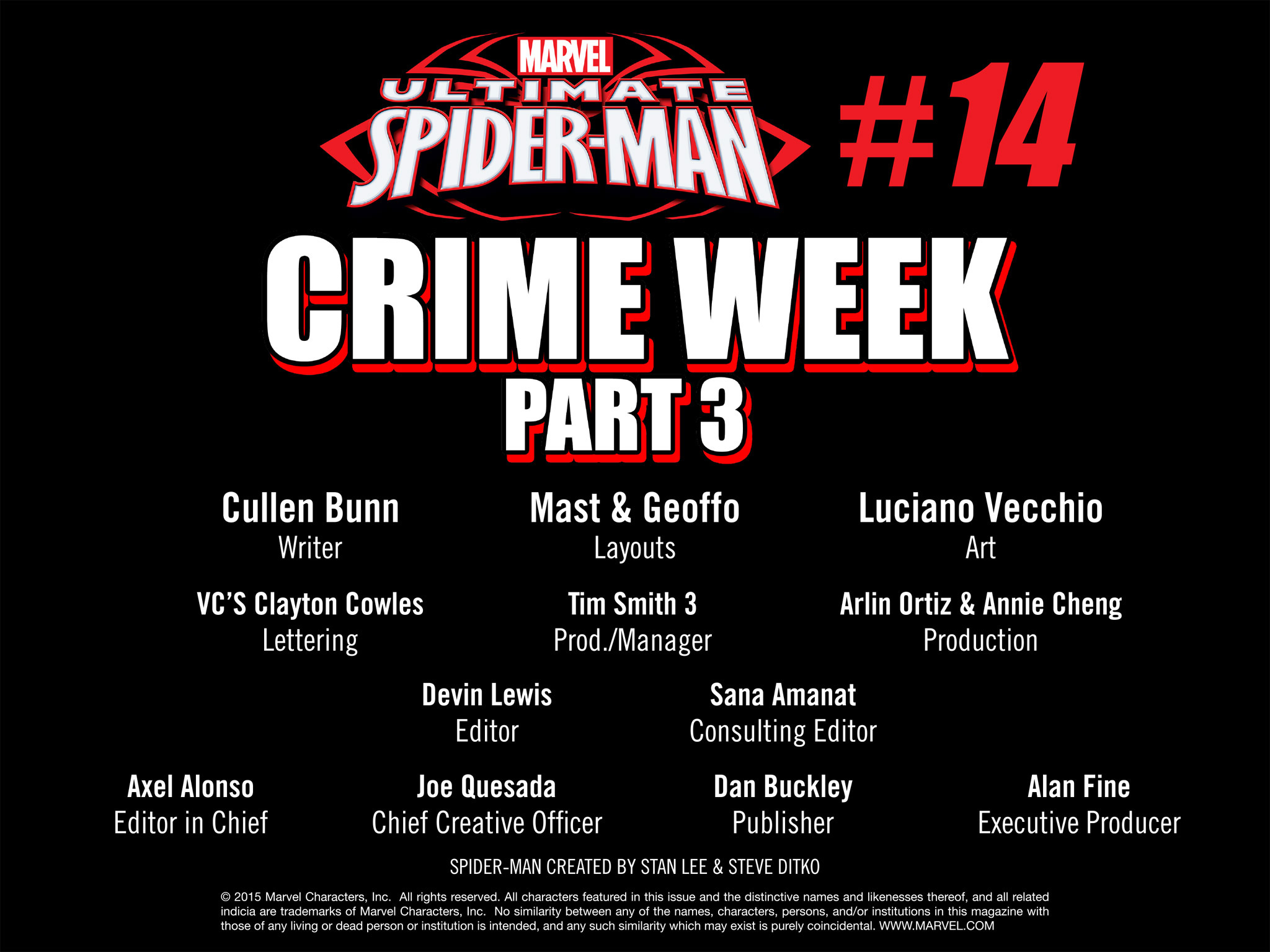Read online Ultimate Spider-Man (Infinite Comics) (2015) comic -  Issue #14 - 43