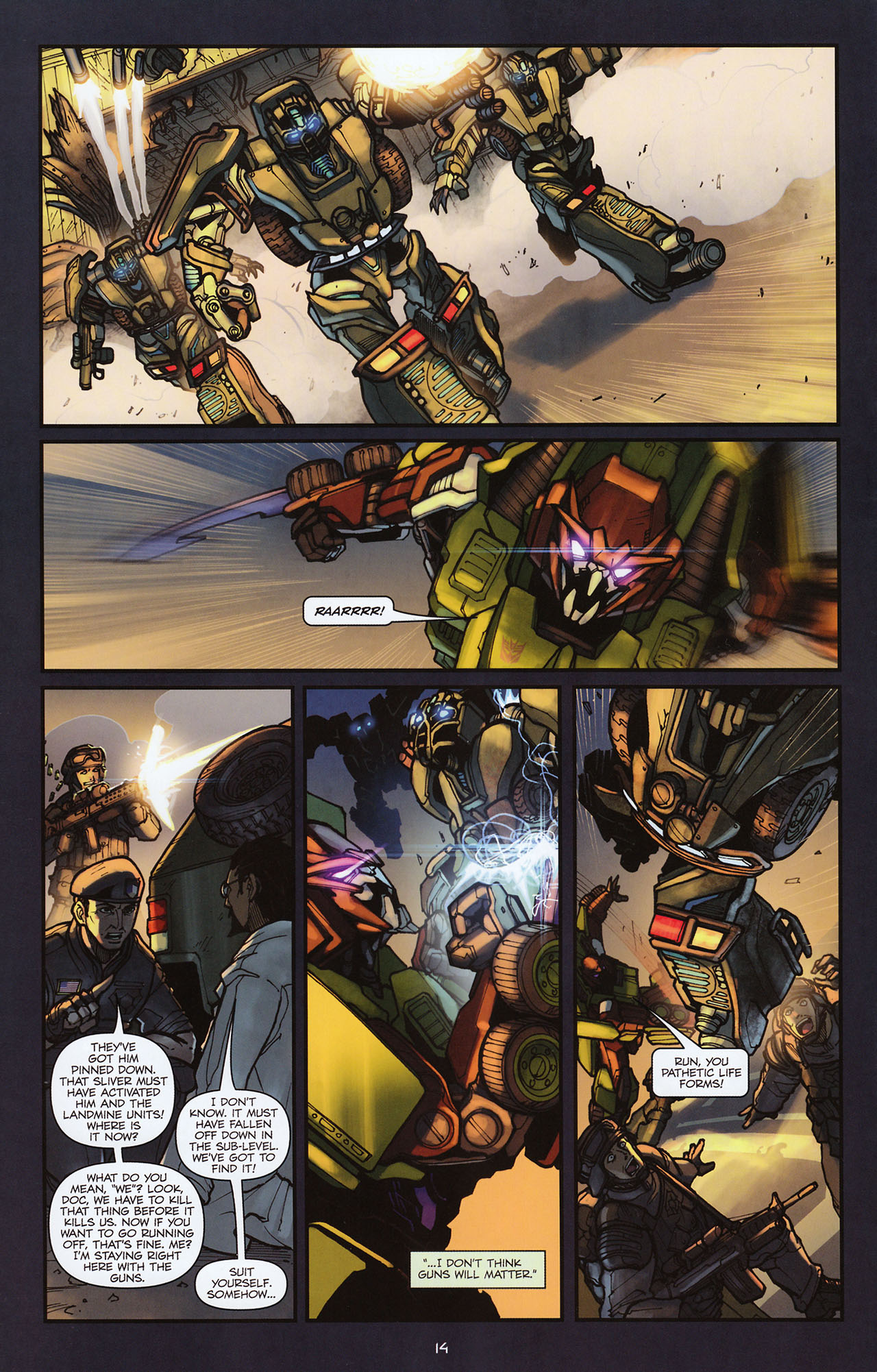 Read online Transformers: Alliance comic -  Issue #2 - 17