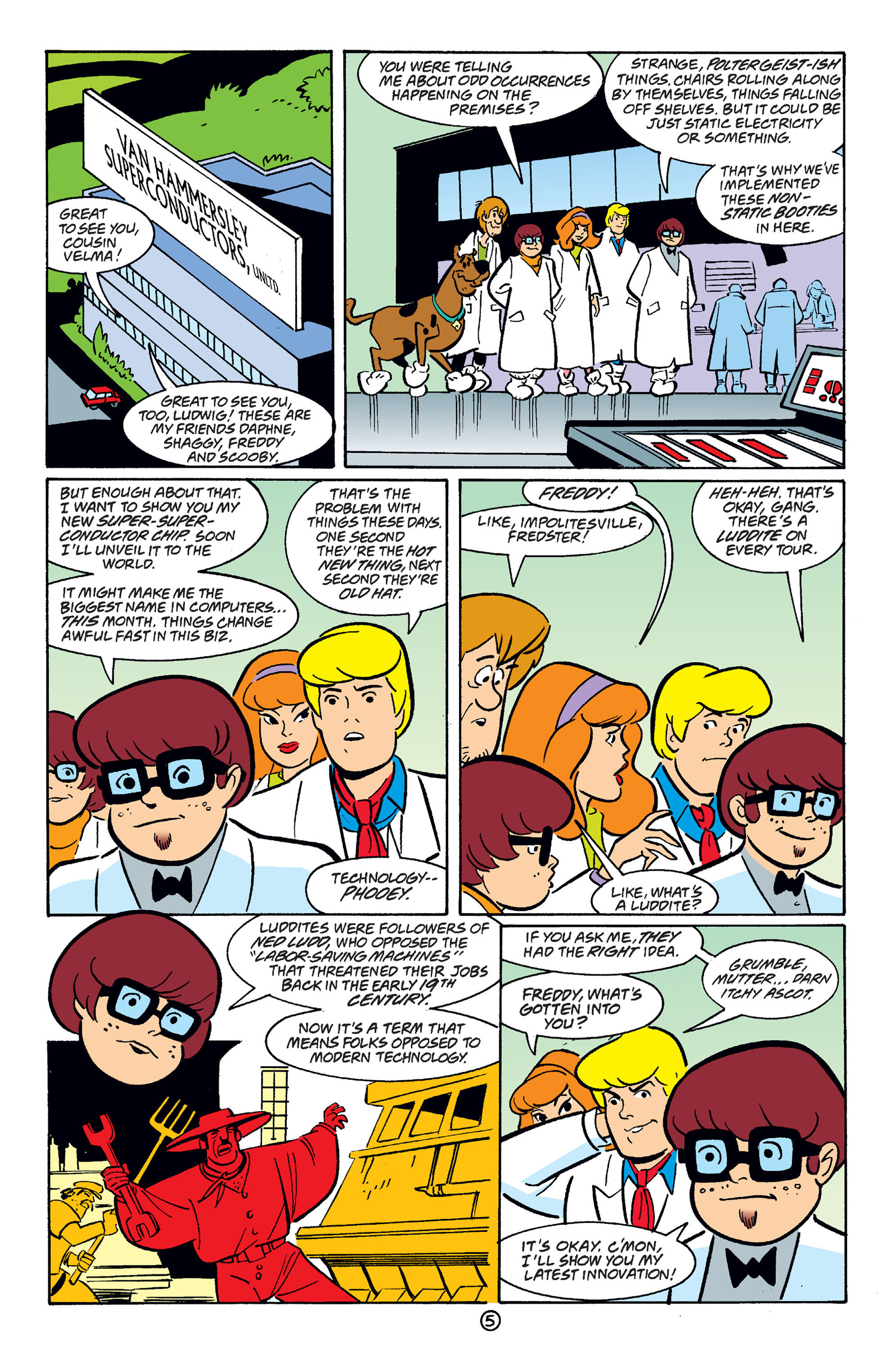 Read online Scooby-Doo (1997) comic -  Issue #38 - 16
