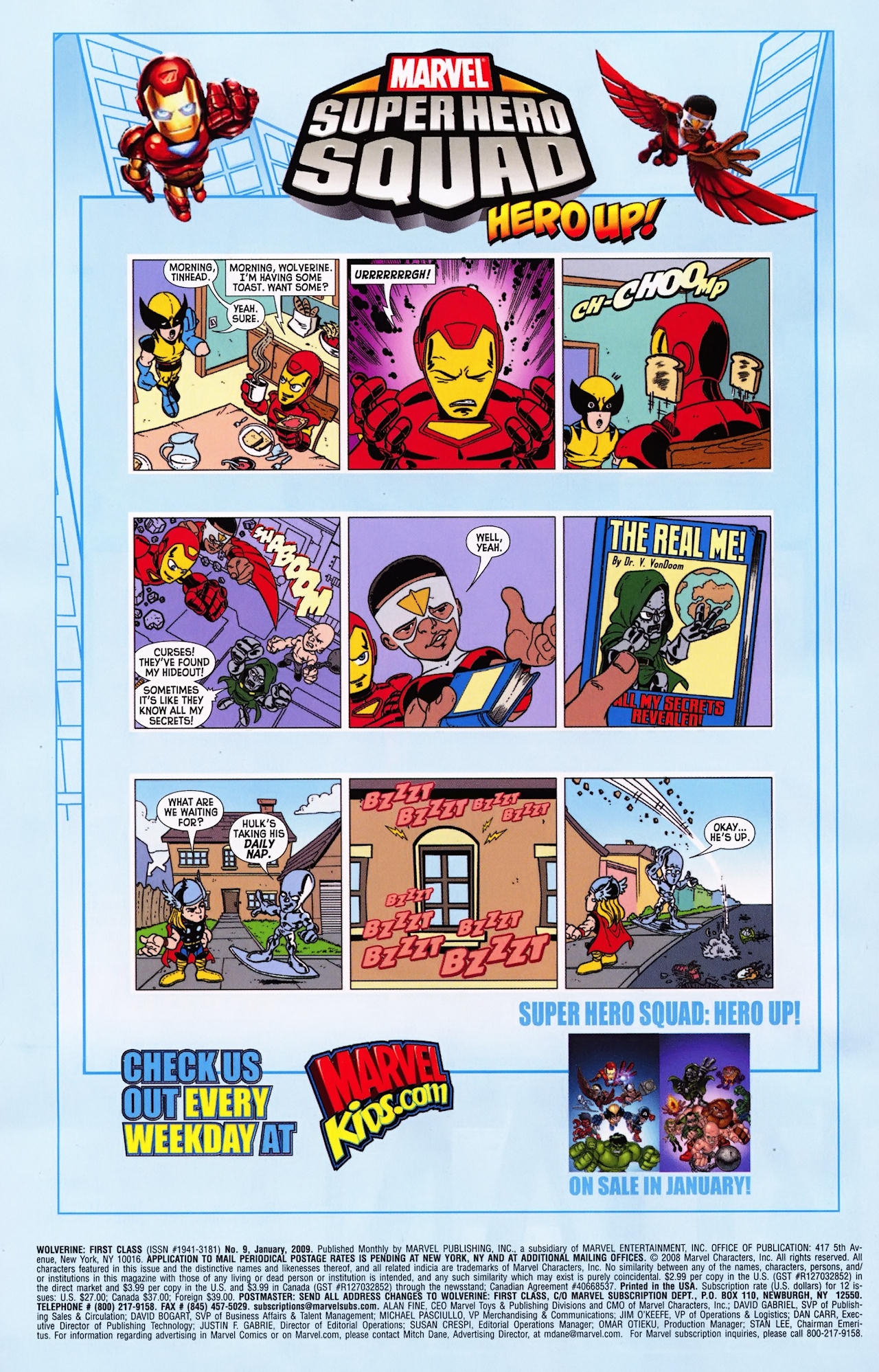 Read online Wolverine: First Class comic -  Issue #9 - 24