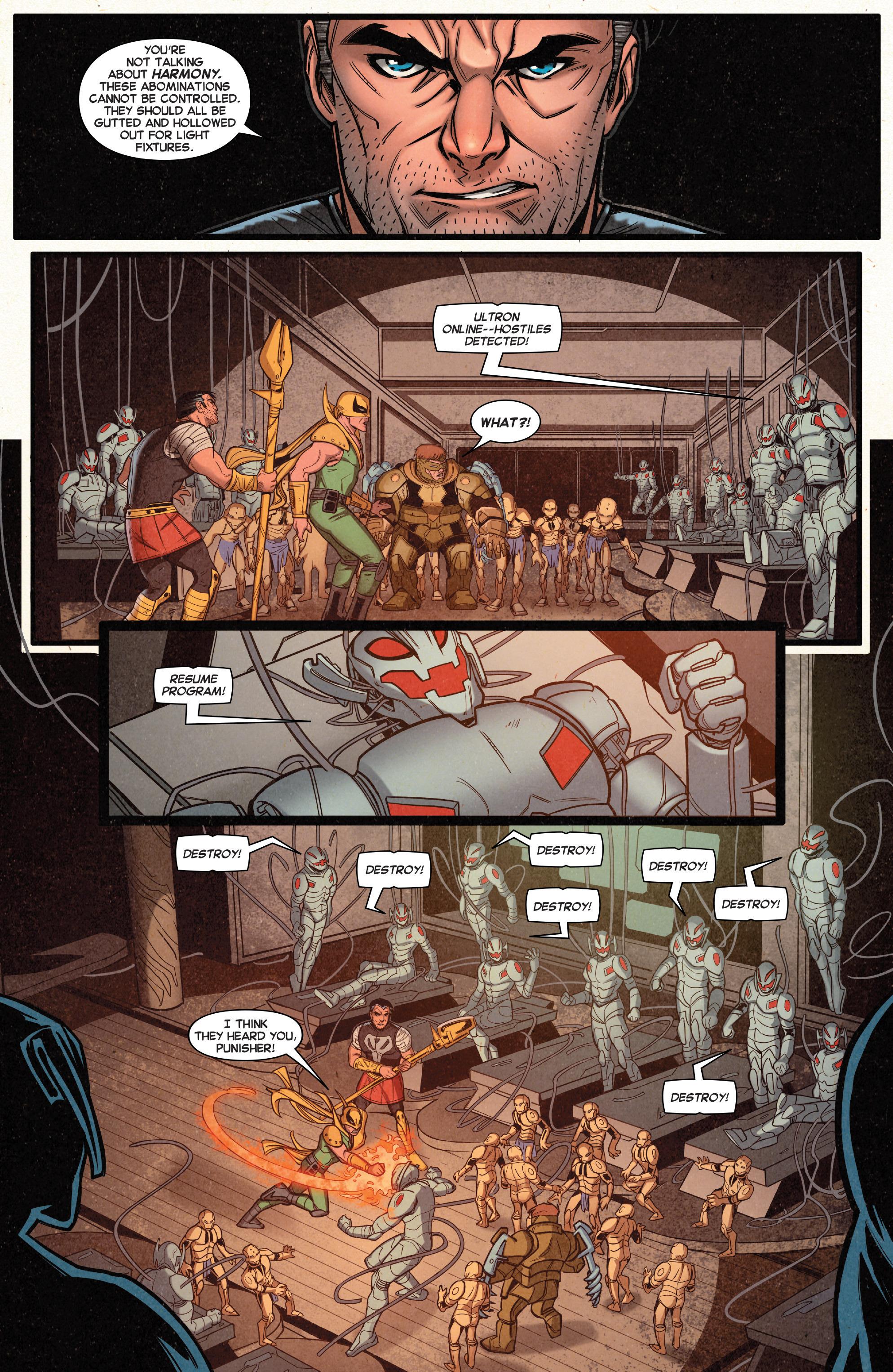 Read online Secret Wars Journal/Battleworld comic -  Issue # TPB - 54