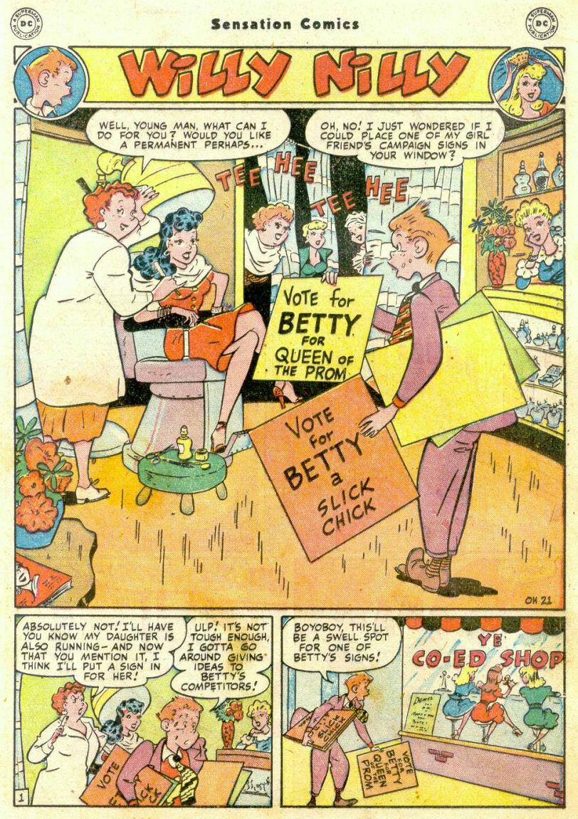 Read online Sensation (Mystery) Comics comic -  Issue #75 - 30