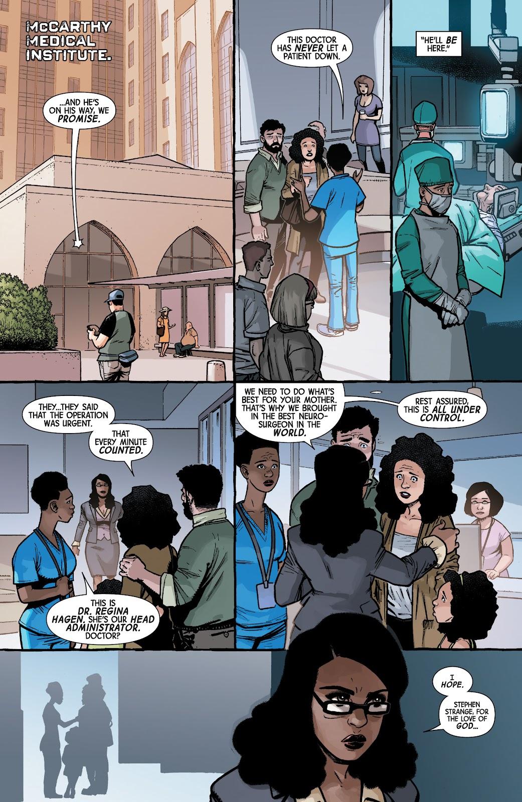 Read online Dr. Strange comic -  Issue #4 - 2