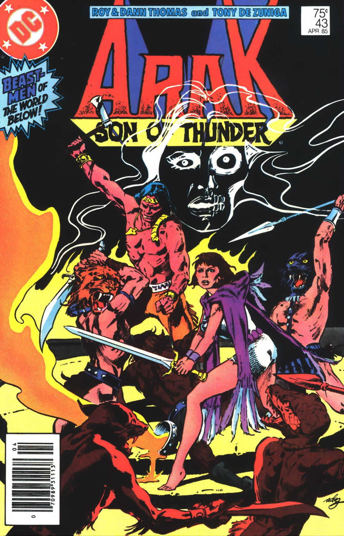 Arak Son of Thunder 43 Page 1