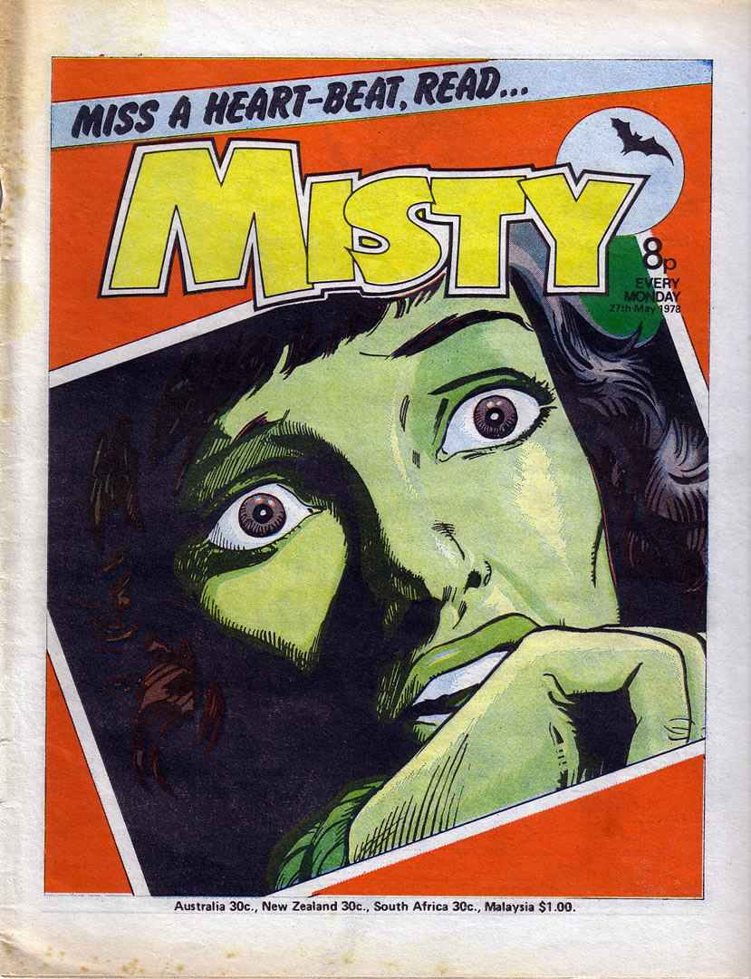 Misty (1978) 17 Page 1