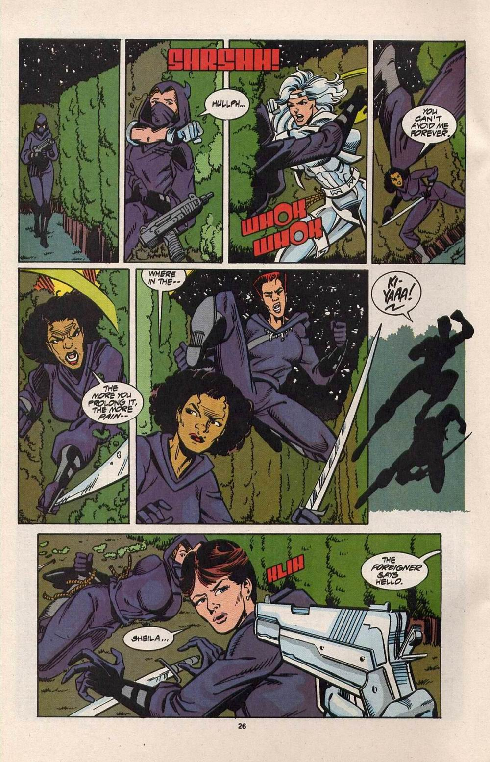Read online Silver Sable and the Wild Pack comic -  Issue #28 - 20