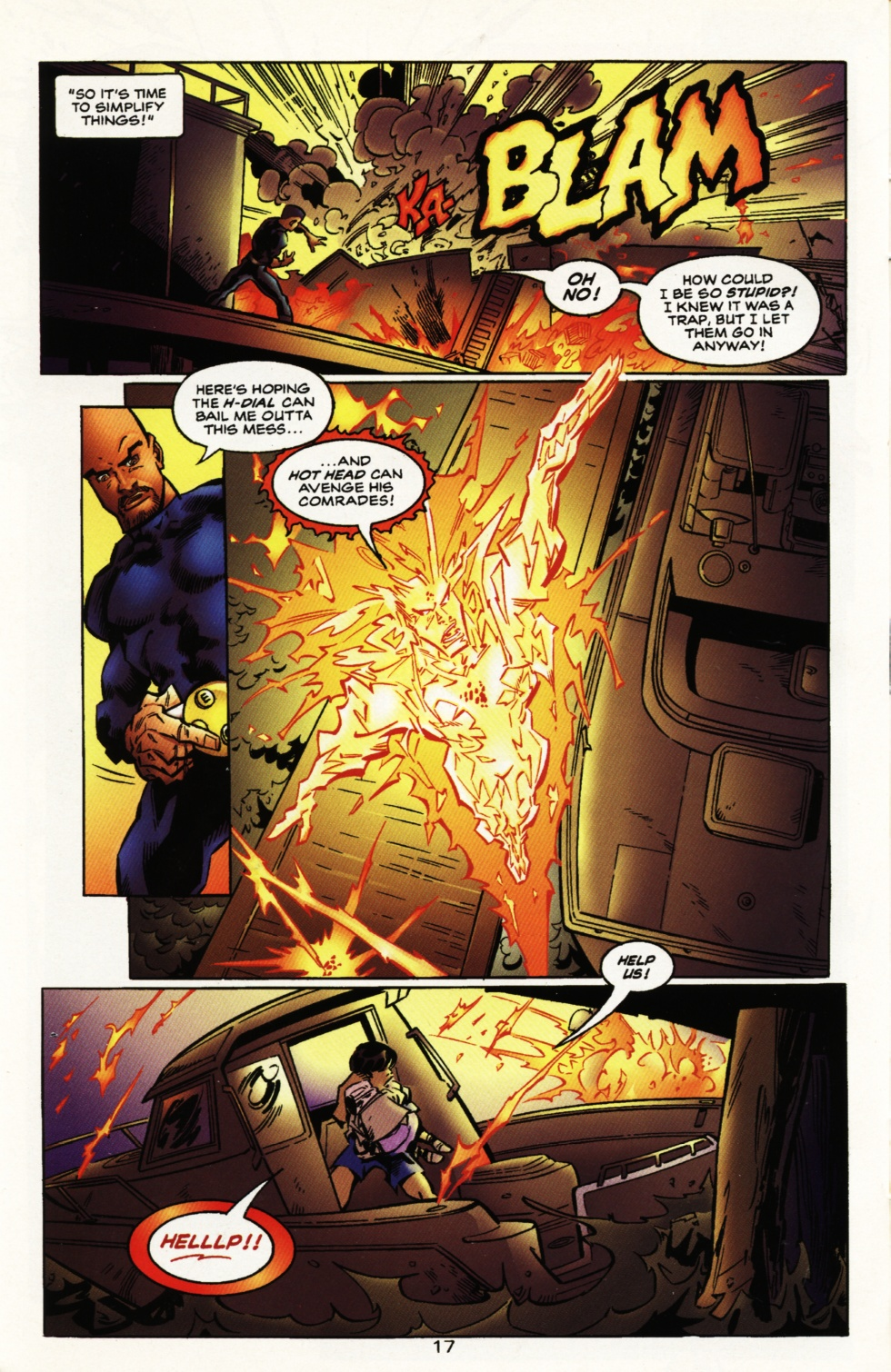 Read online Superboy & The Ravers comic -  Issue #10 - 17