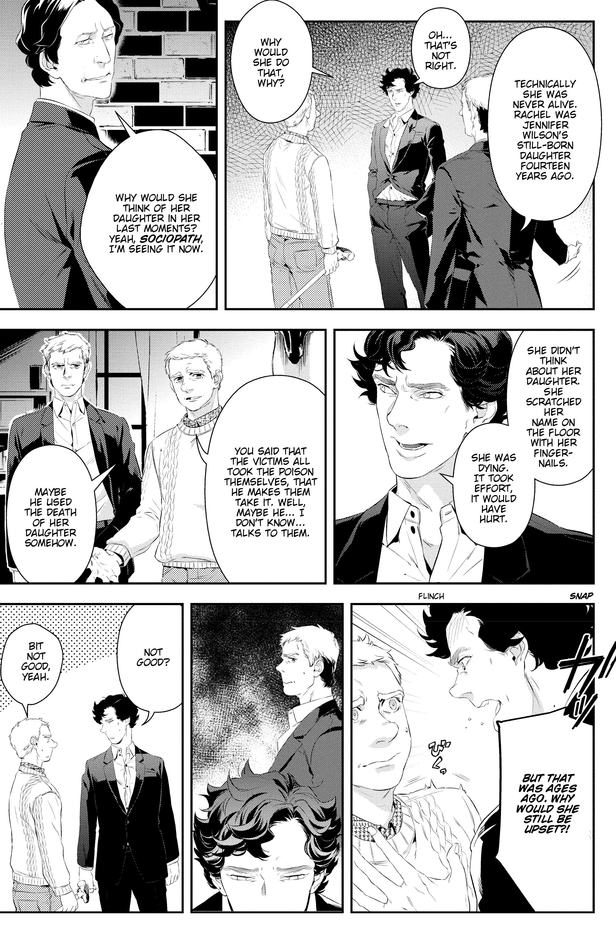 Read online Sherlock: A Study In Pink comic -  Issue #5 - 11