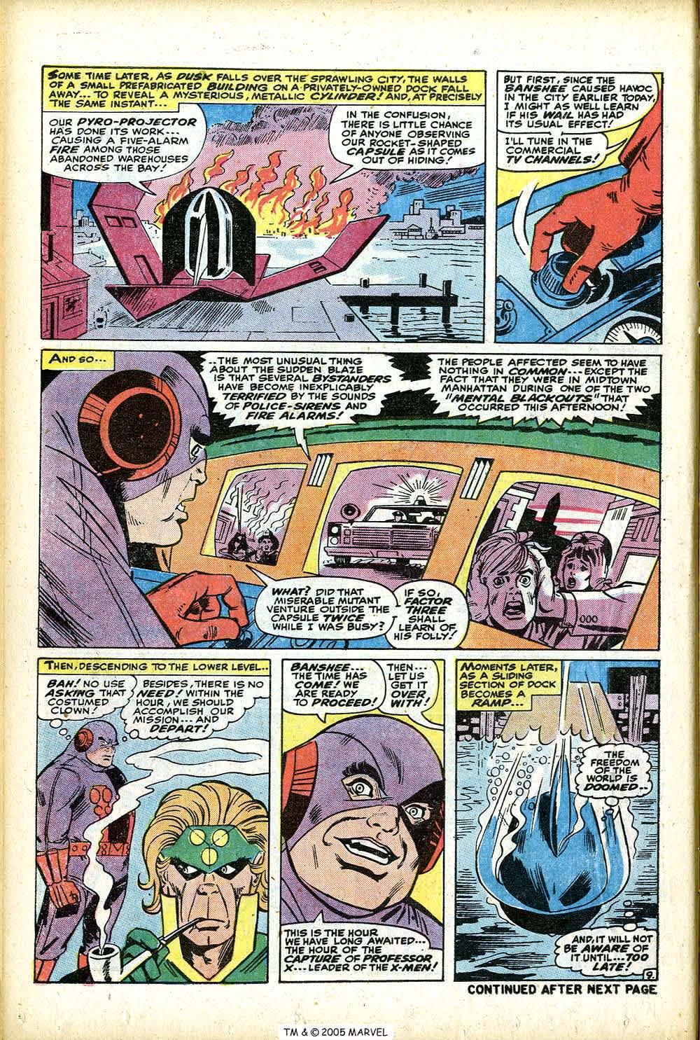 Uncanny X-Men (1963) 76 Page 13
