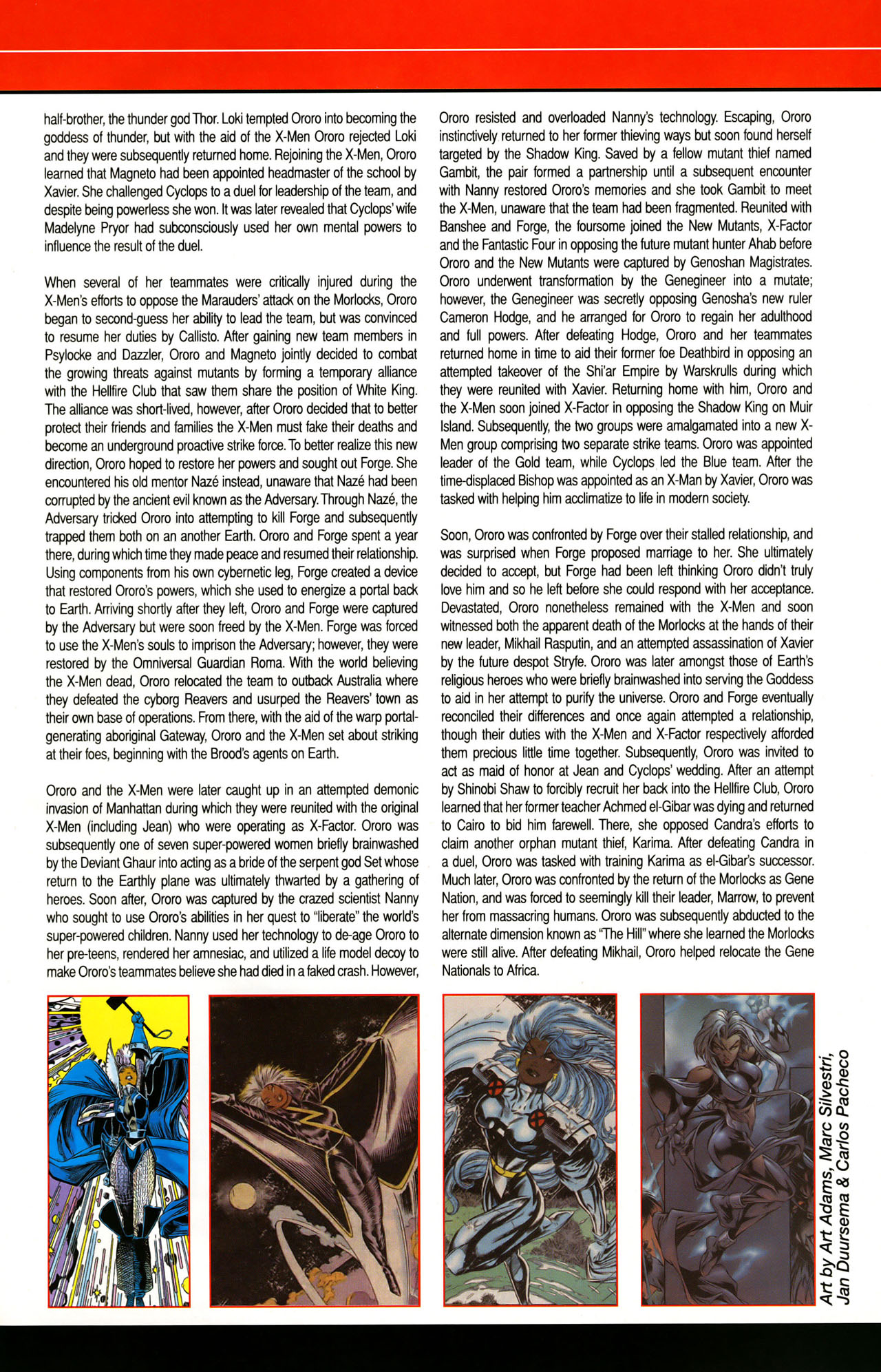 Read online All-New Official Handbook of the Marvel Universe A to Z: Update comic -  Issue #1 - 56