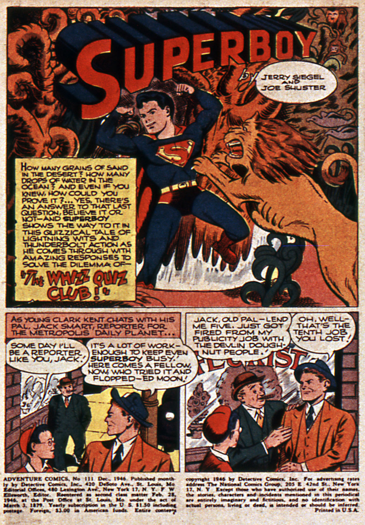 Read online Adventure Comics (1938) comic -  Issue #111 - 3