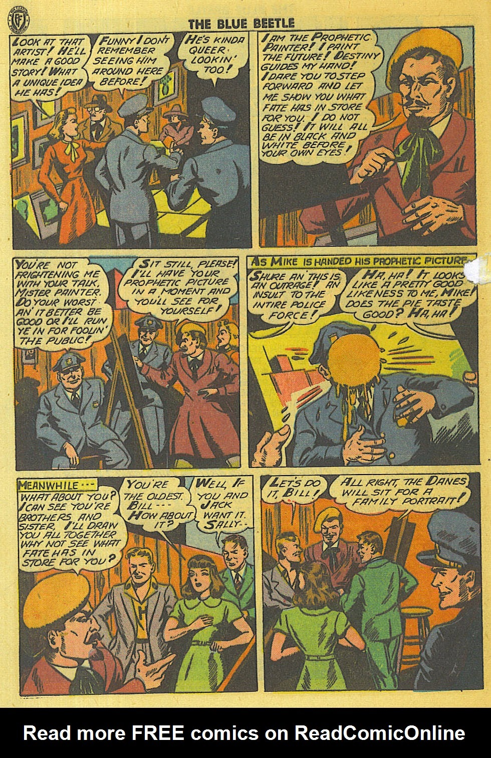 The Blue Beetle issue 35 - Page 3