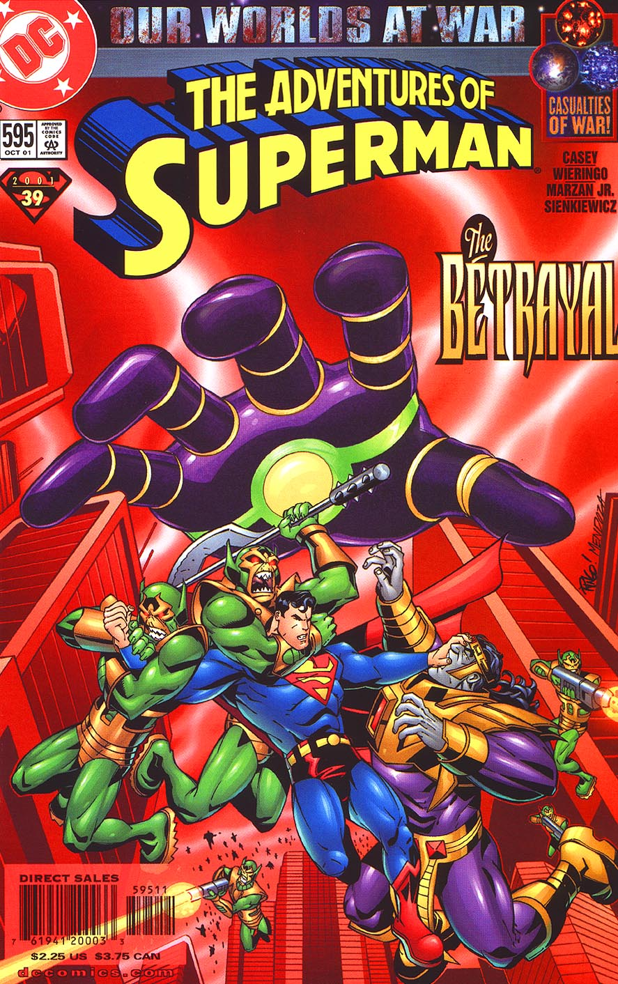 Read online Adventures of Superman (1987) comic -  Issue #595 - 1