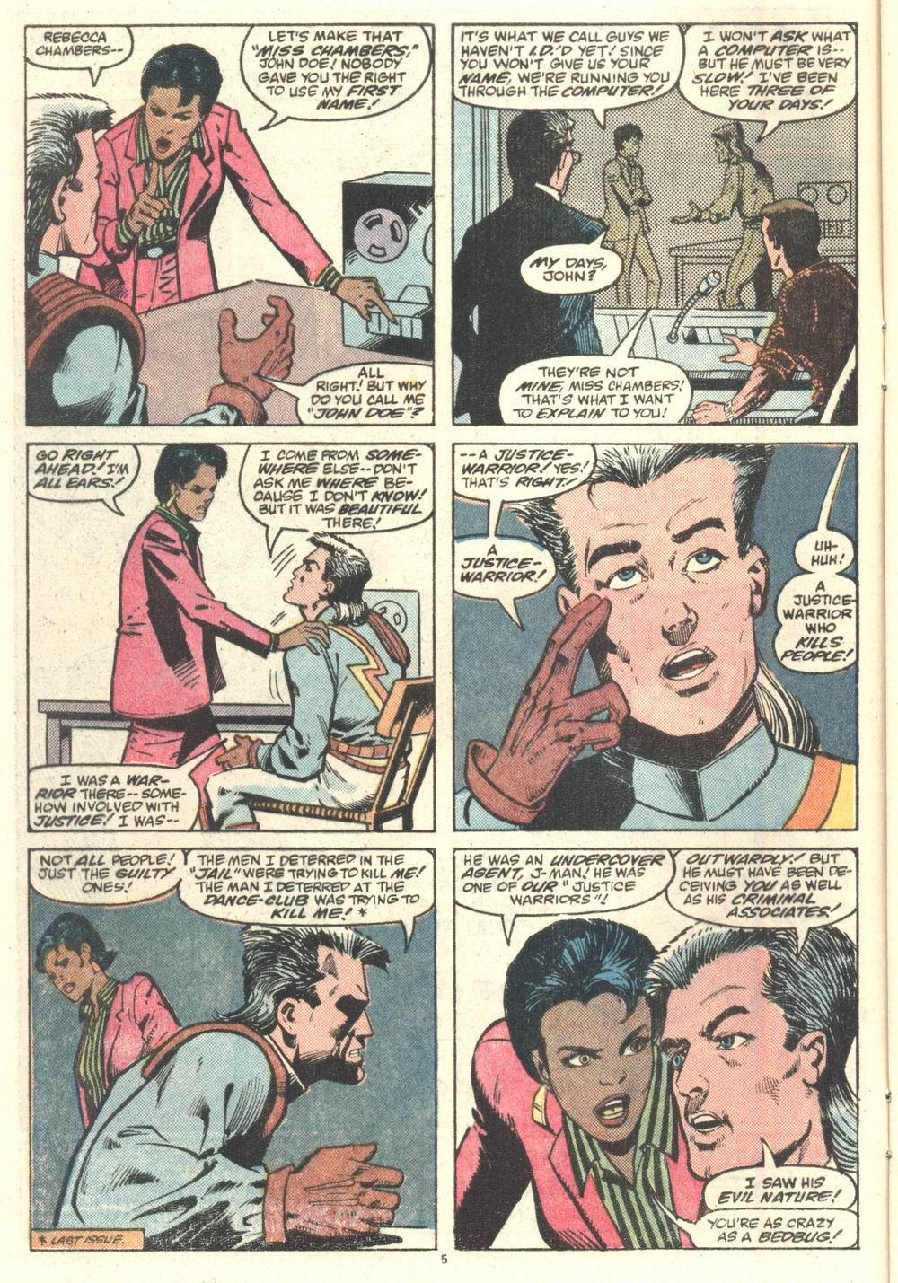Read online Justice (1986) comic -  Issue #2 - 6