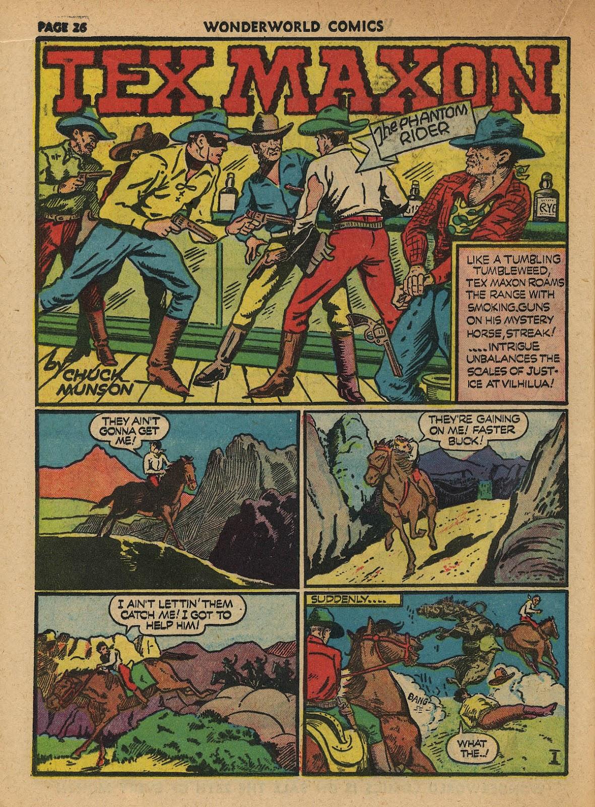 Wonderworld Comics issue 23 - Page 28