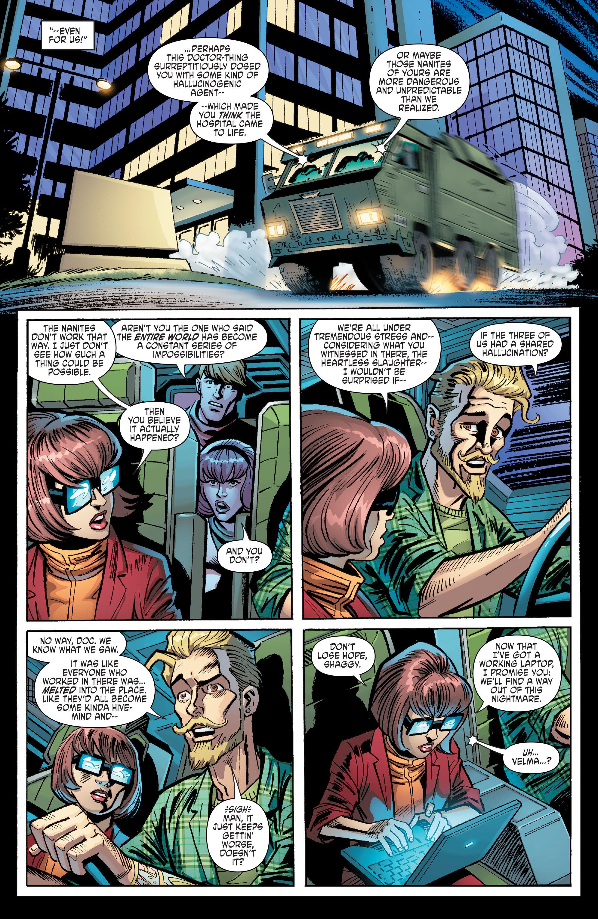 Read online Scooby Apocalypse comic -  Issue #8 - 24