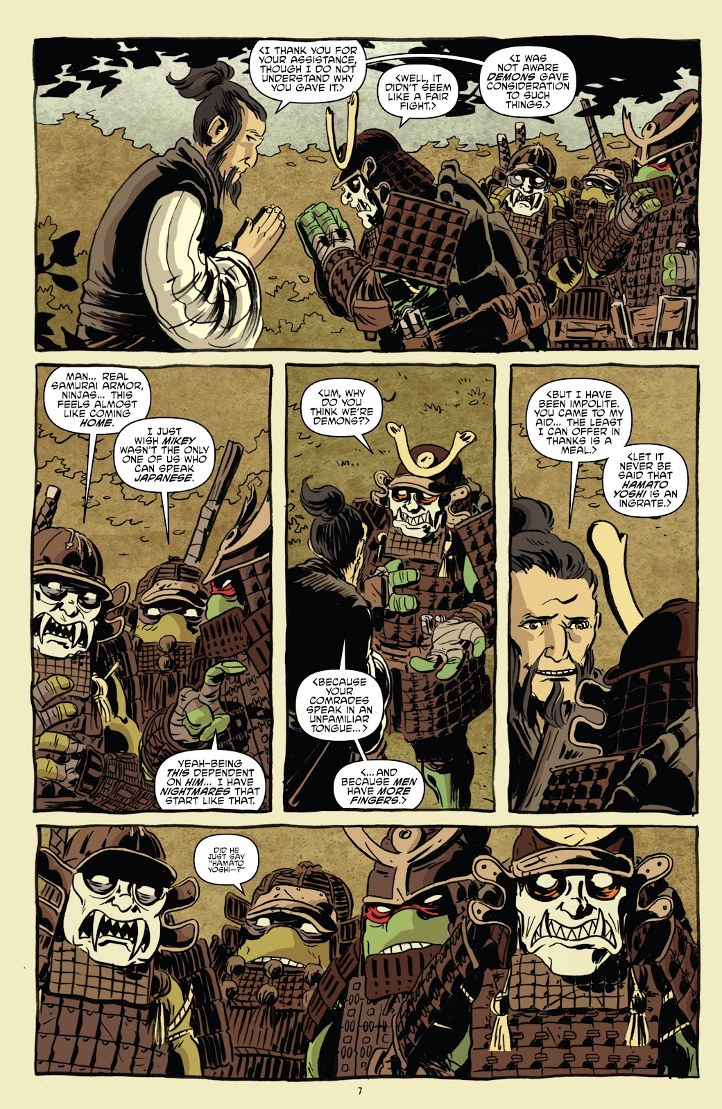 Read online Teenage Mutant Ninja Turtles: The IDW Collection comic -  Issue # TPB 5 (Part 1) - 37