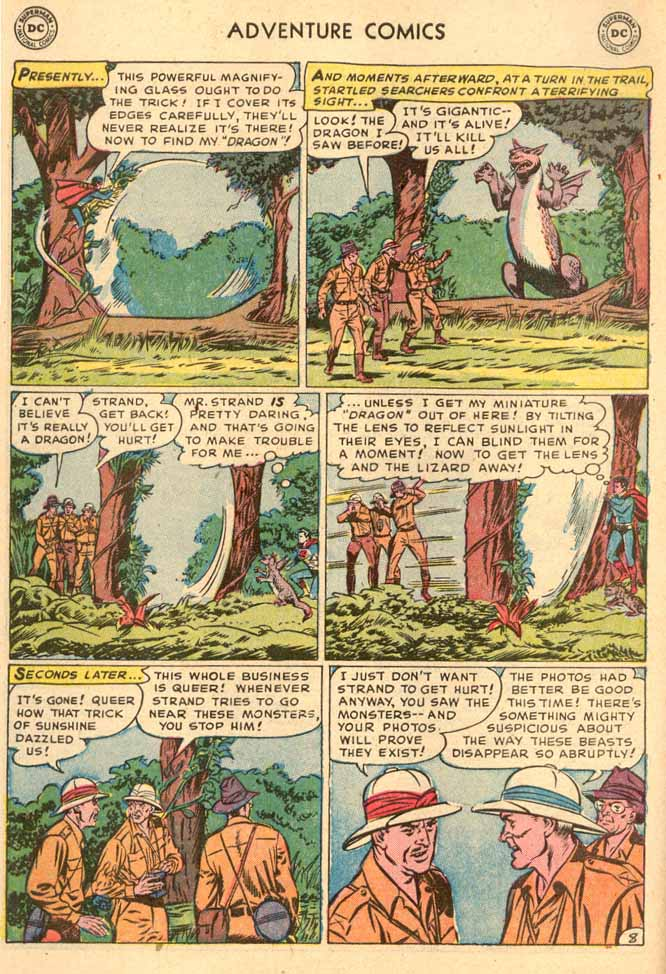 Read online Adventure Comics (1938) comic -  Issue #185 - 10