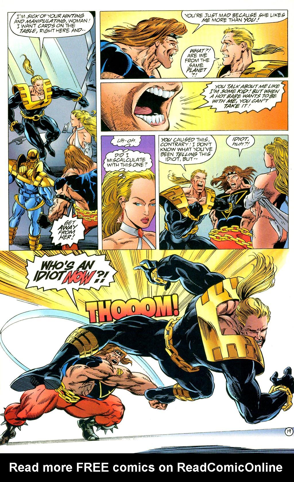 Read online UltraForce (1994) comic -  Issue #2 - 20