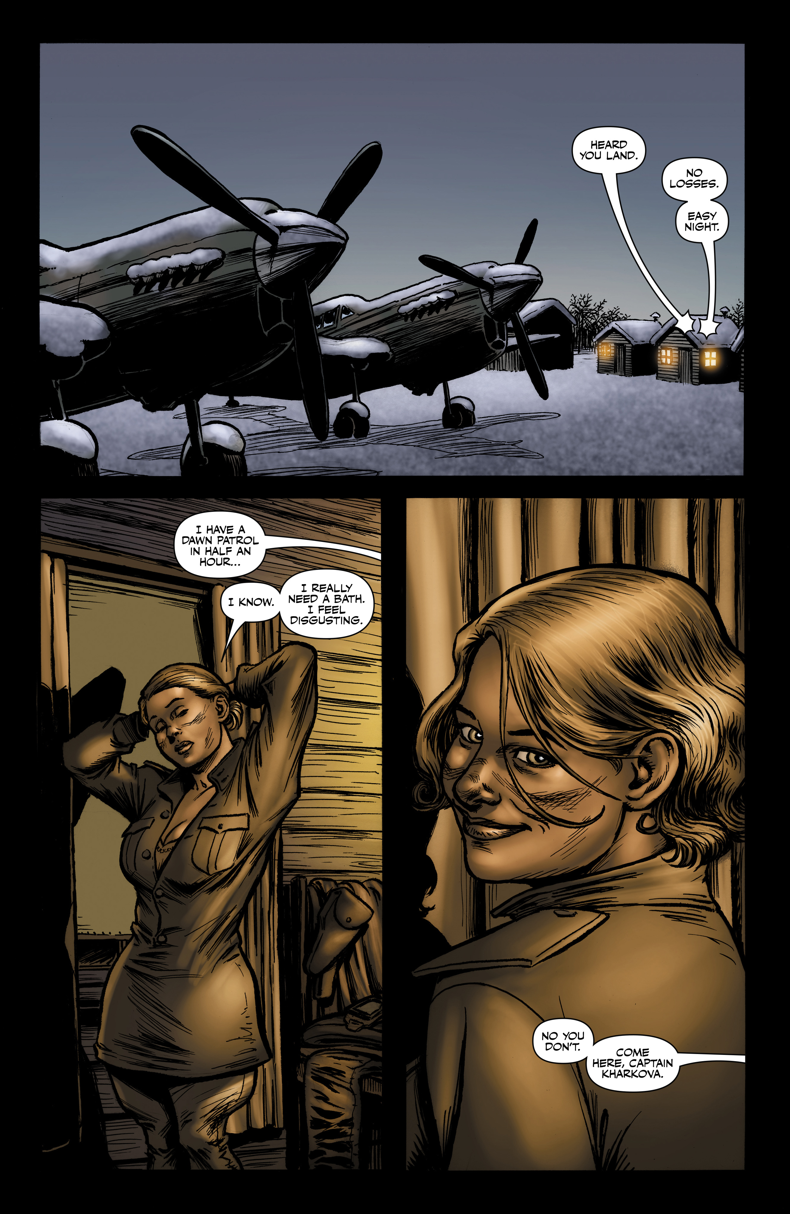 Read online Battlefields: Night Witches comic -  Issue # TPB - 51
