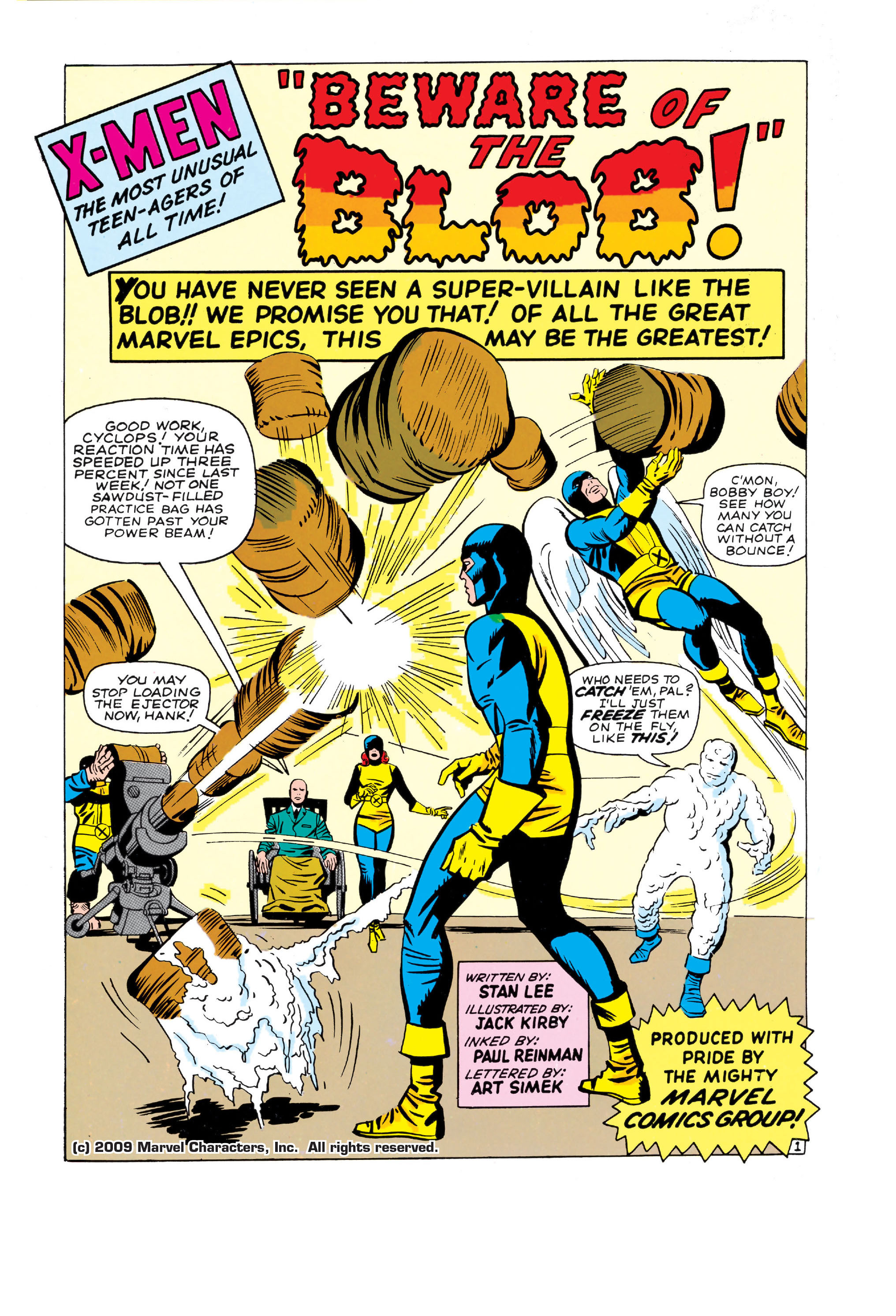 Read online Uncanny X-Men (1963) comic -  Issue #3 - 2