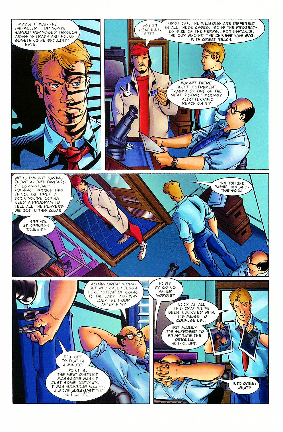 Read online Shi: The Way of the Warrior comic -  Issue #8 - 23
