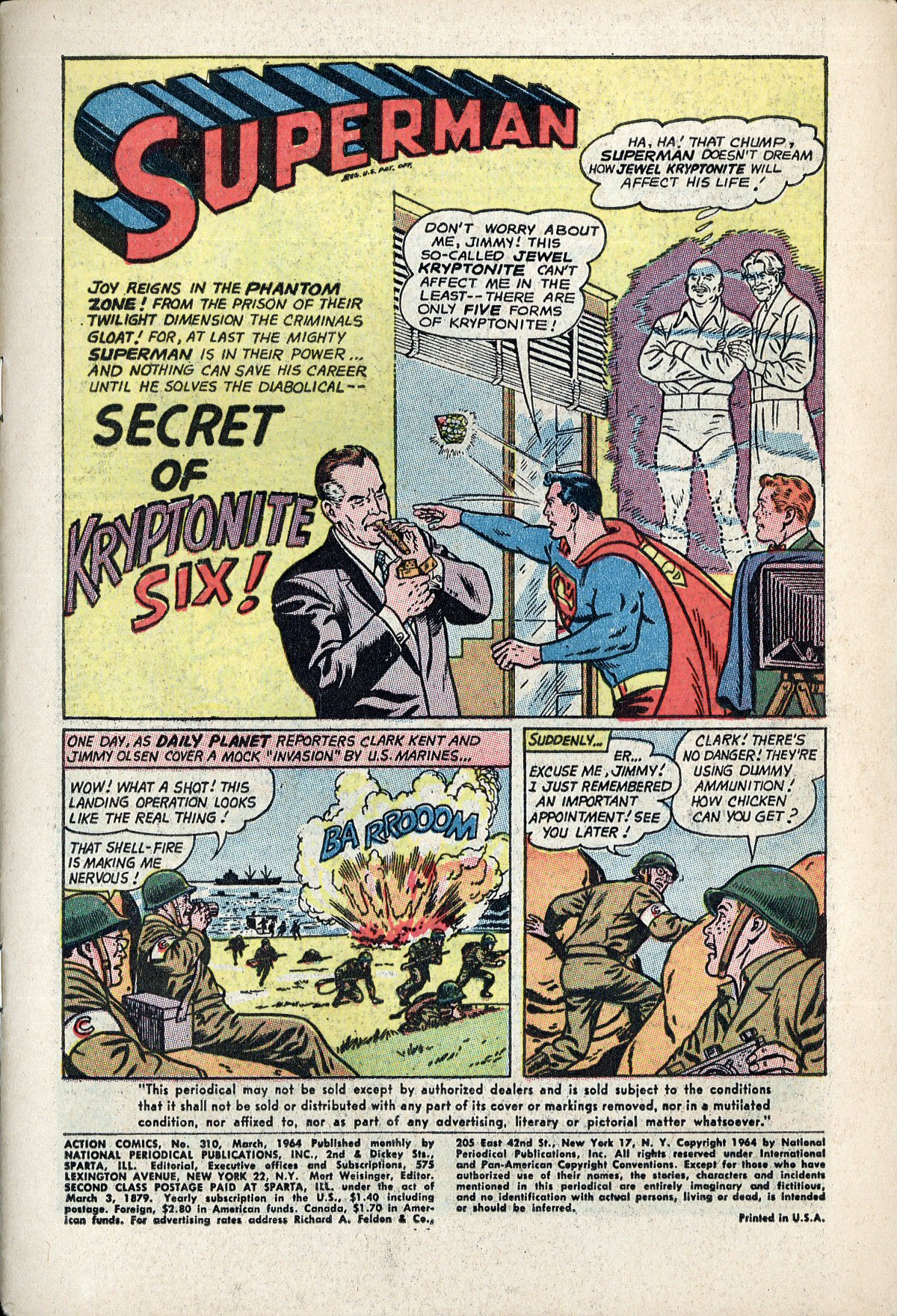 Read online Action Comics (1938) comic -  Issue #310 - 3