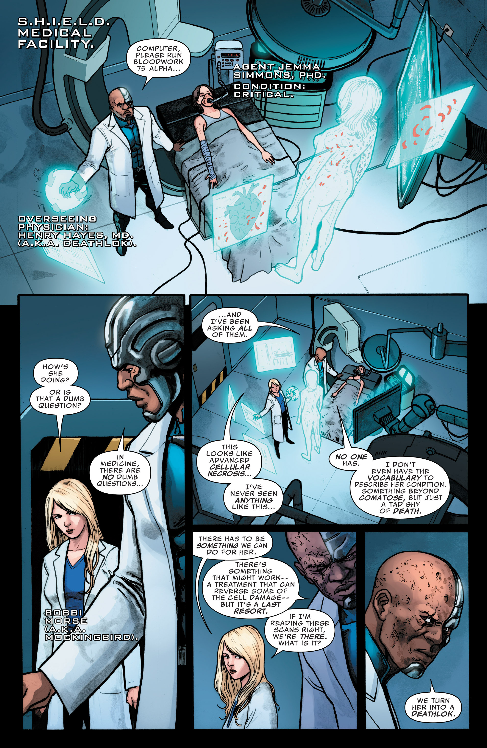 Read online Agents of S.H.I.E.L.D. comic -  Issue #8 - 6