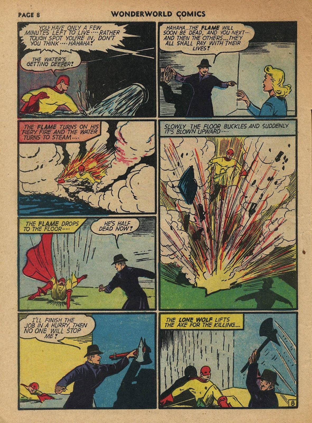 Wonderworld Comics issue 23 - Page 10