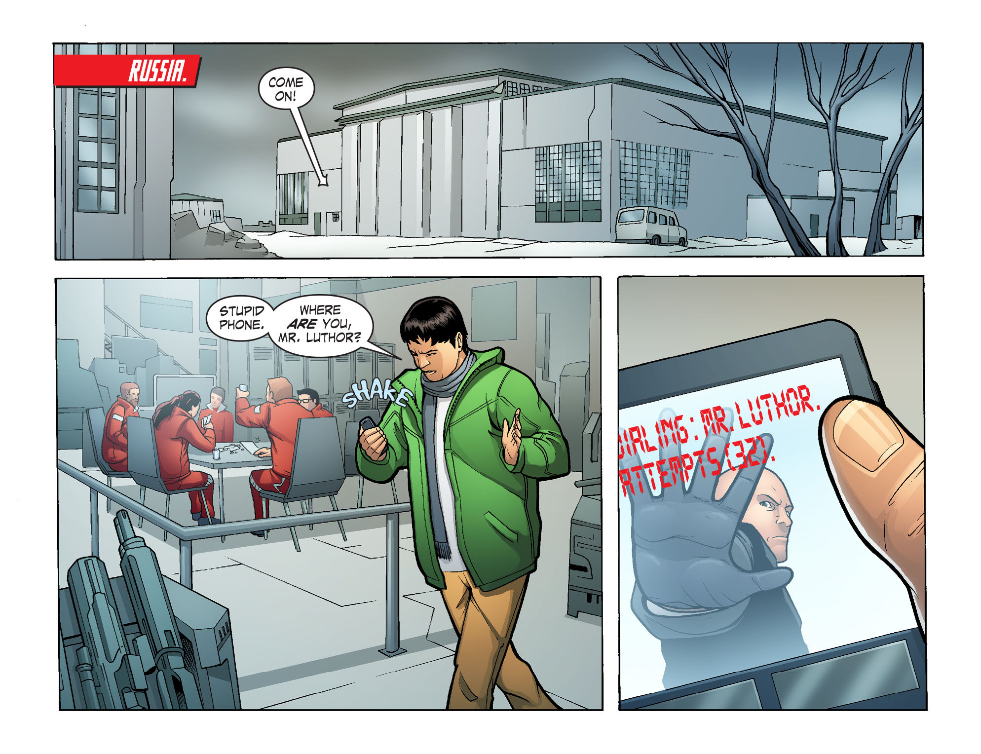 Read online Smallville: Alien comic -  Issue #10 - 3