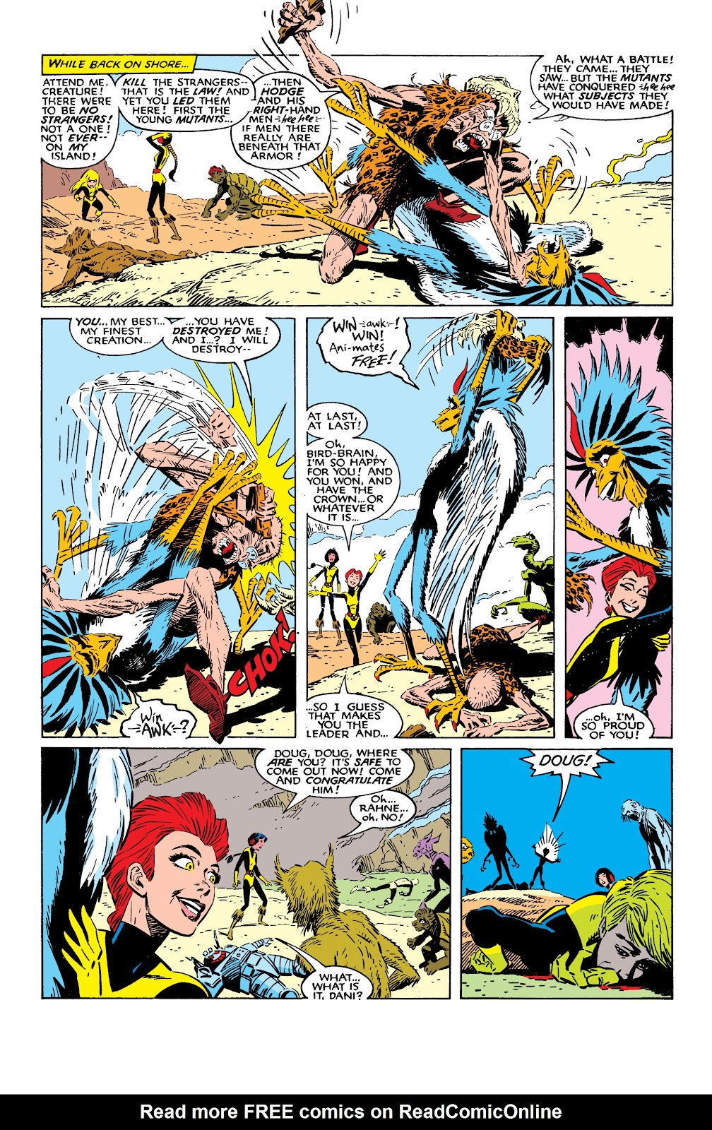 Read online X-Men Milestones: Fall of the Mutants comic -  Issue # TPB (Part 2) - 53