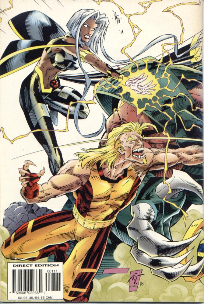 Read online Uncanny X-Men (1963) comic -  Issue # _Annual 1996 - 2