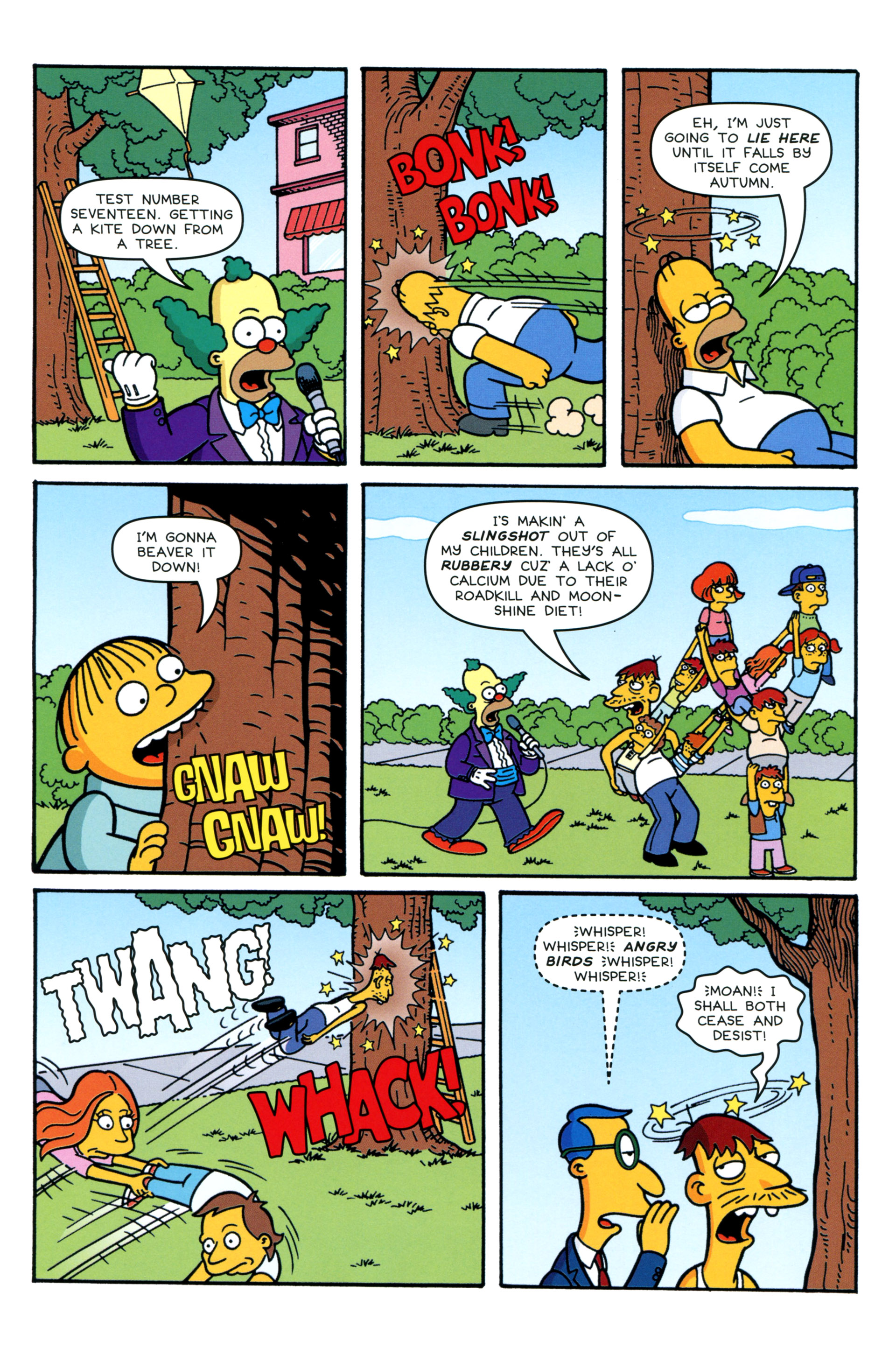 Read online Simpsons Comics comic -  Issue #206 - 15