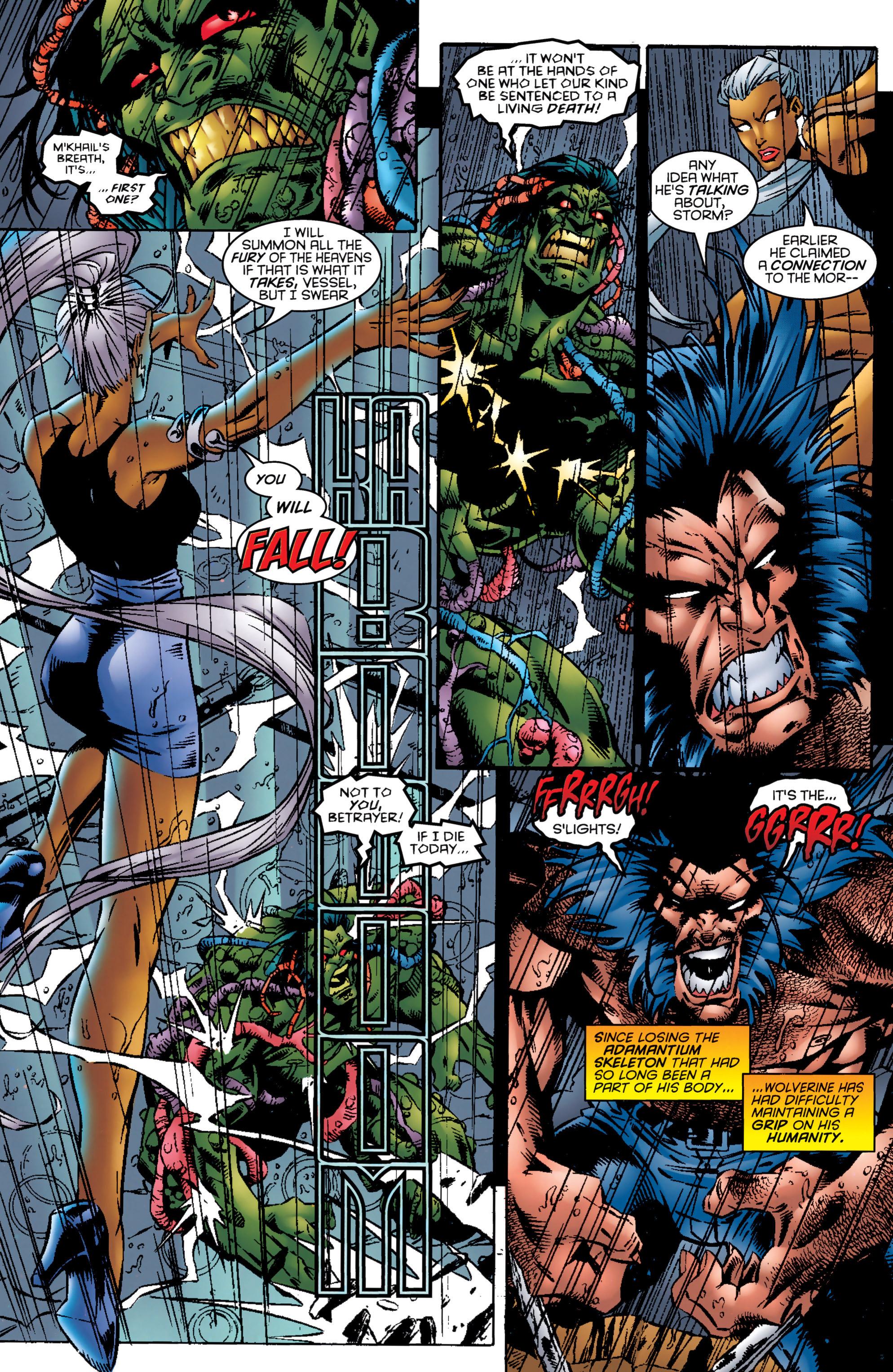 Read online Uncanny X-Men (1963) comic -  Issue #324 - 15