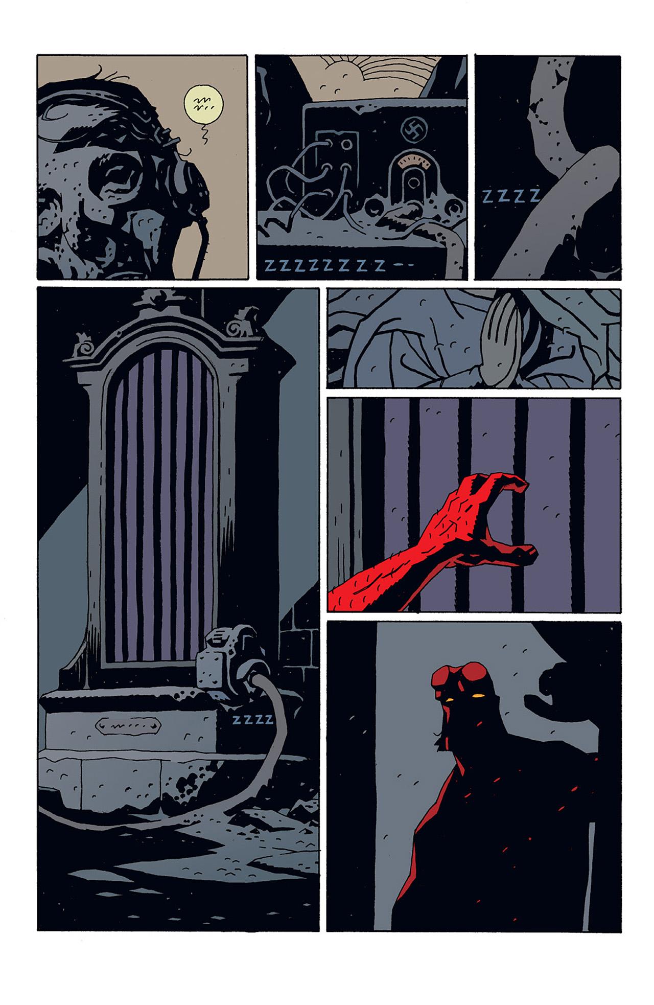 Read online Hellboy: Conqueror Worm comic -  Issue #3 - 19