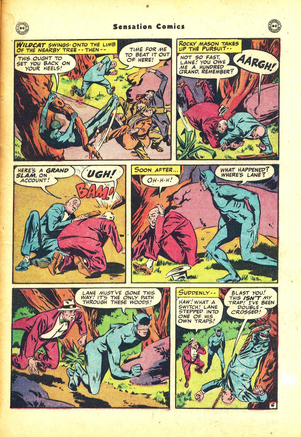 Read online Sensation (Mystery) Comics comic -  Issue #81 - 49