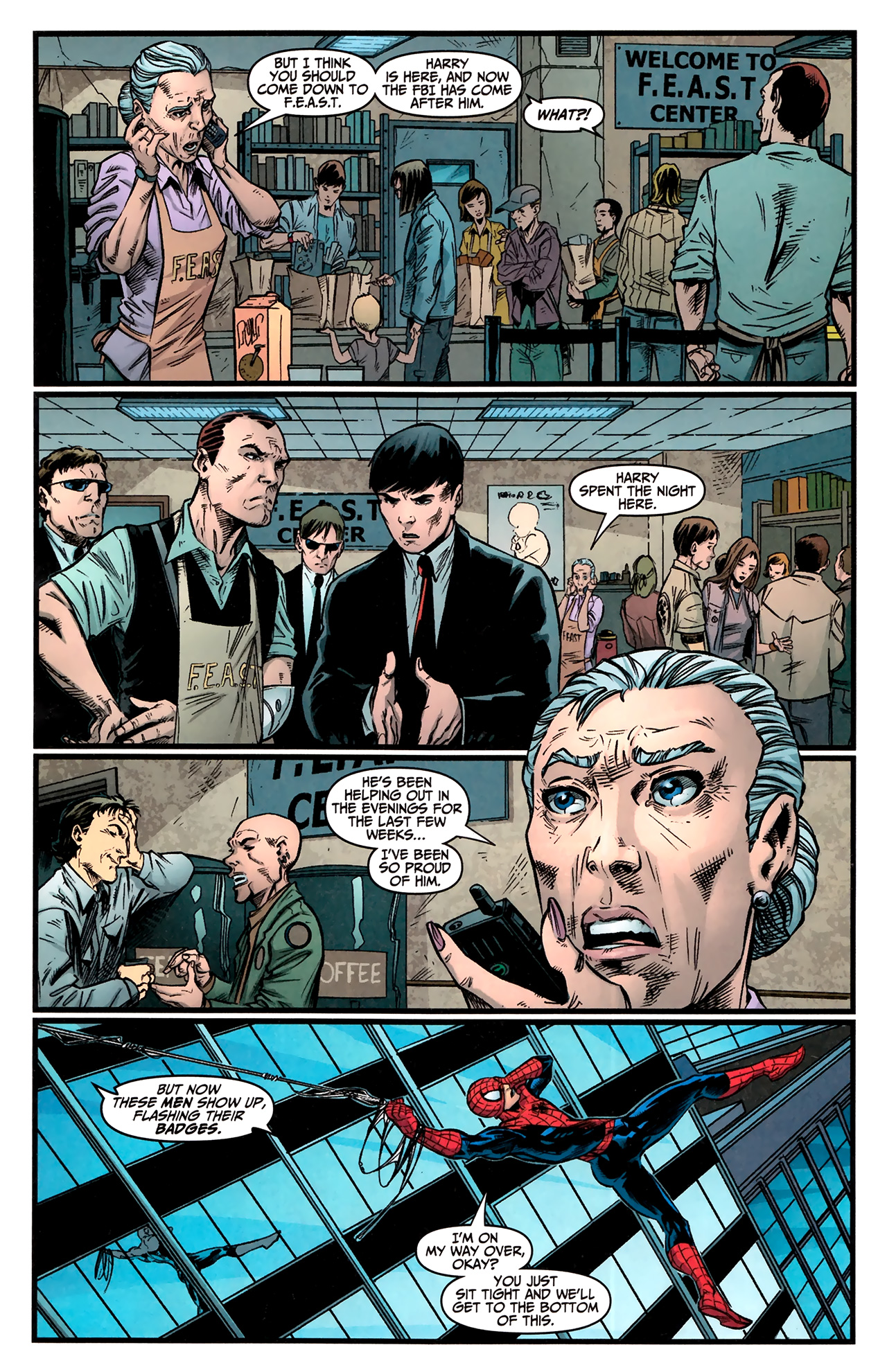 Read online Amazing Spider-Man Presents: American Son comic -  Issue #3 - 9