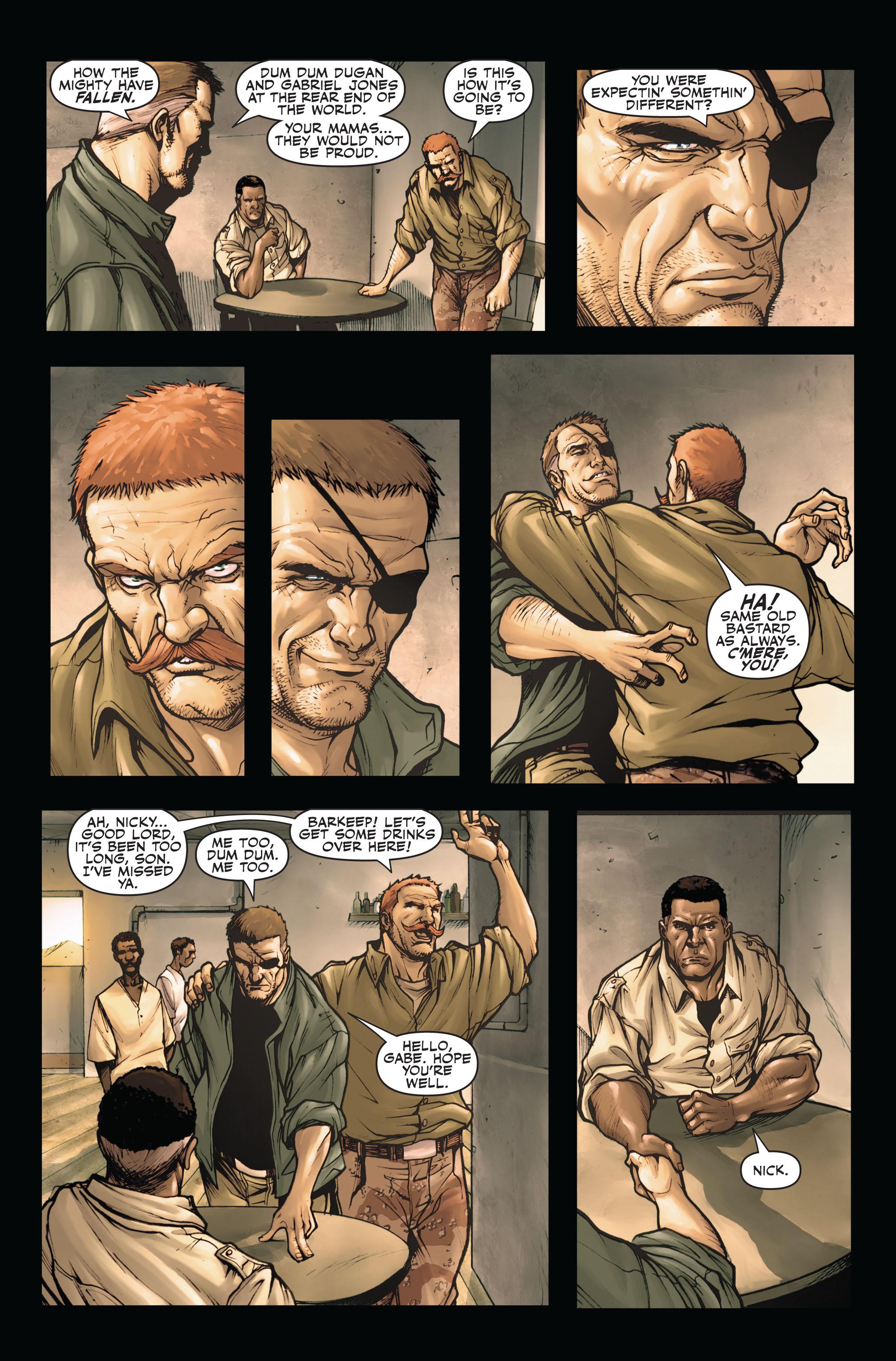 Read online Secret Warriors comic -  Issue #4 - 8