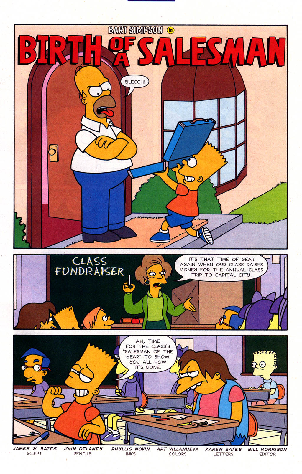 Read online Simpsons Comics Presents Bart Simpson comic -  Issue #22 - 23