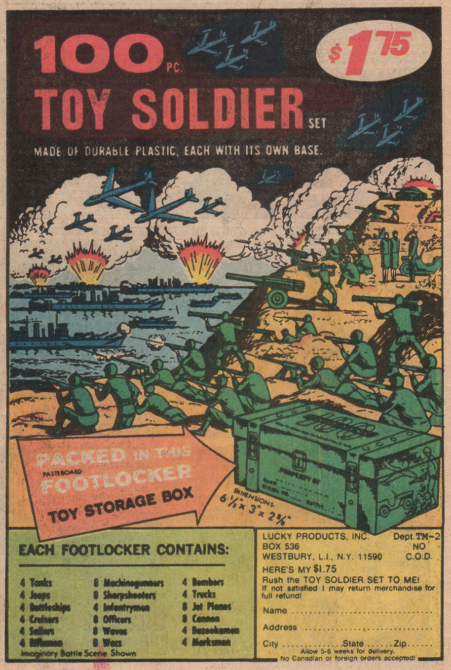 Read online Sgt. Fury comic -  Issue #142 - 34