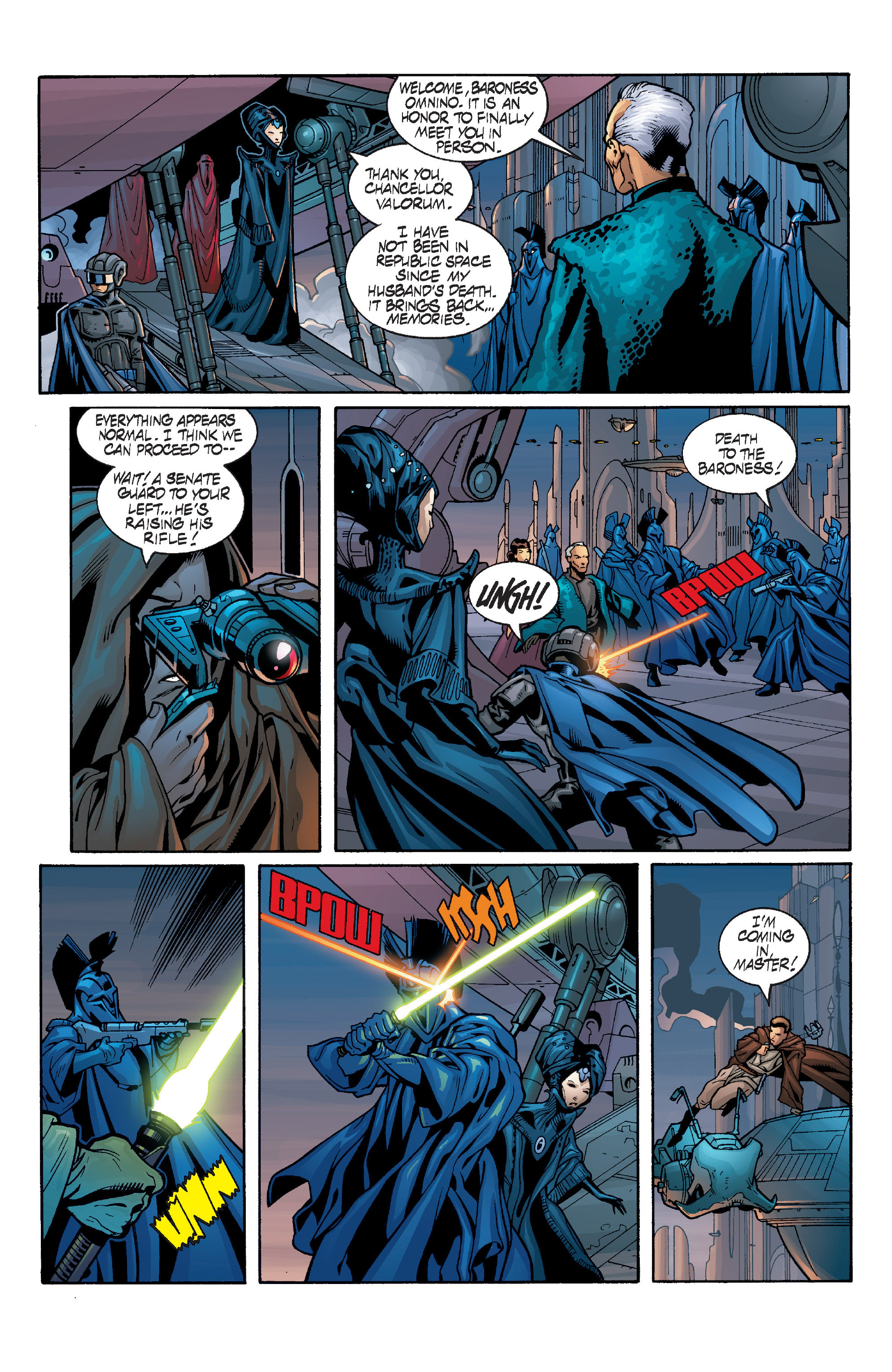 Read online Star Wars: Qui-Gon & Obi-Wan - Last Stand on Ord Mantell comic -  Issue #1 - 5