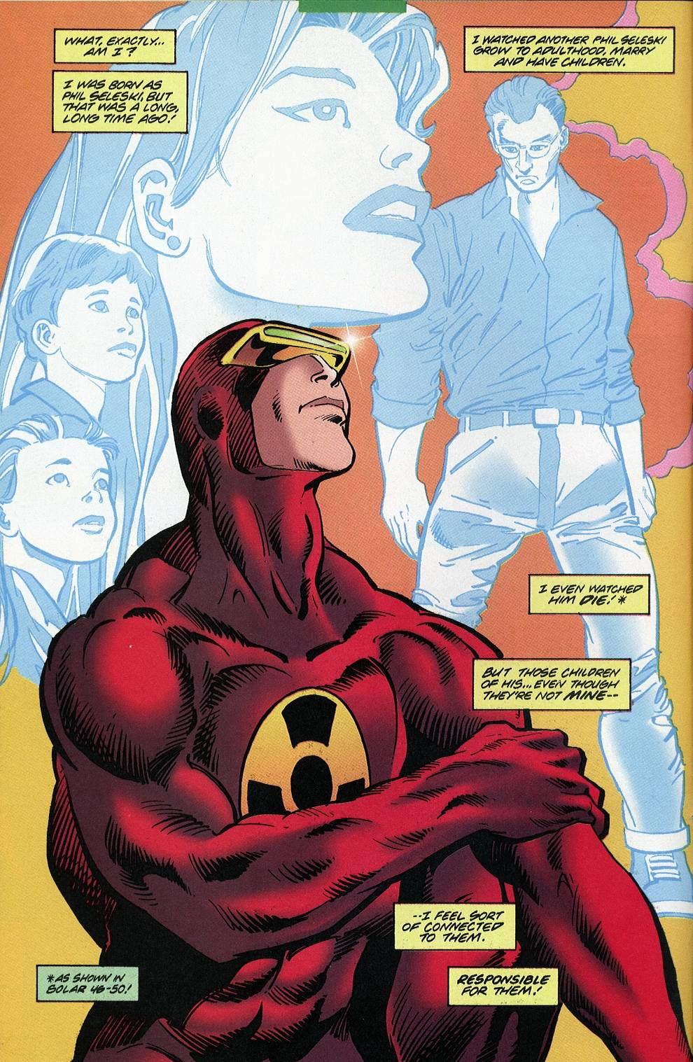 Read online Solar, Man of the Atom comic -  Issue #53 - 8