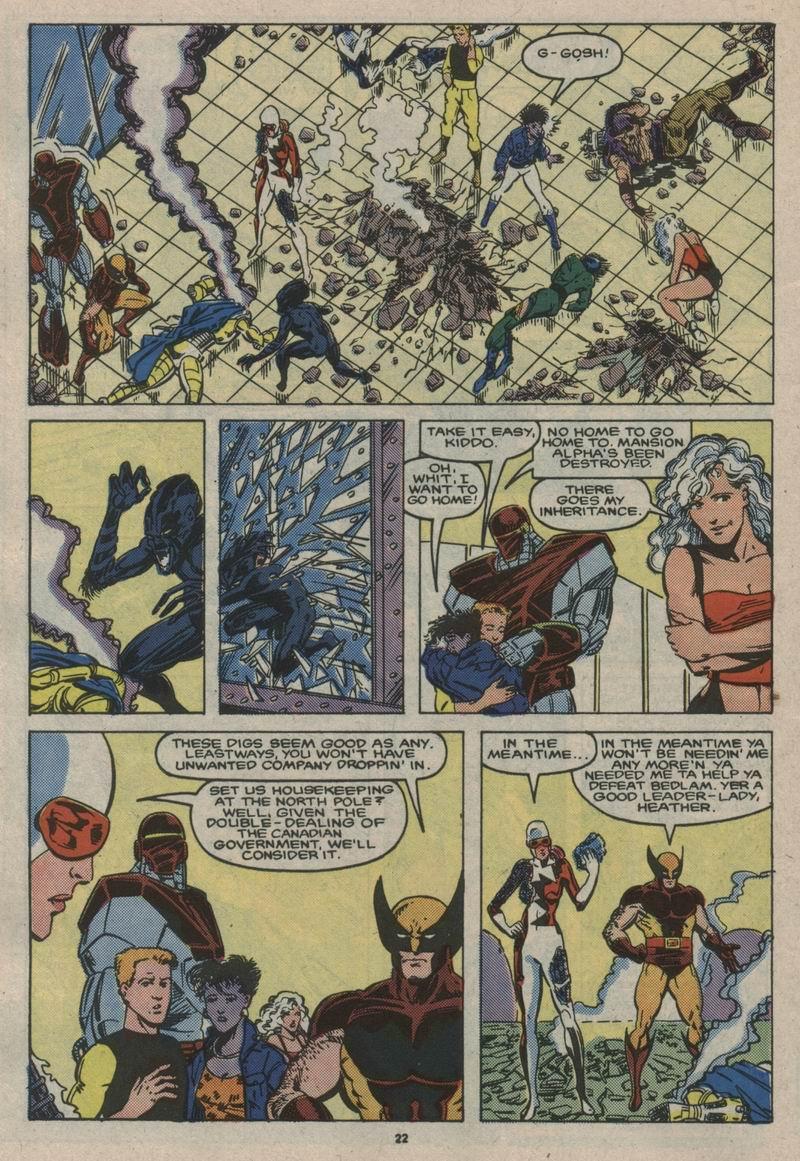 Read online Alpha Flight (1983) comic -  Issue #53 - 23